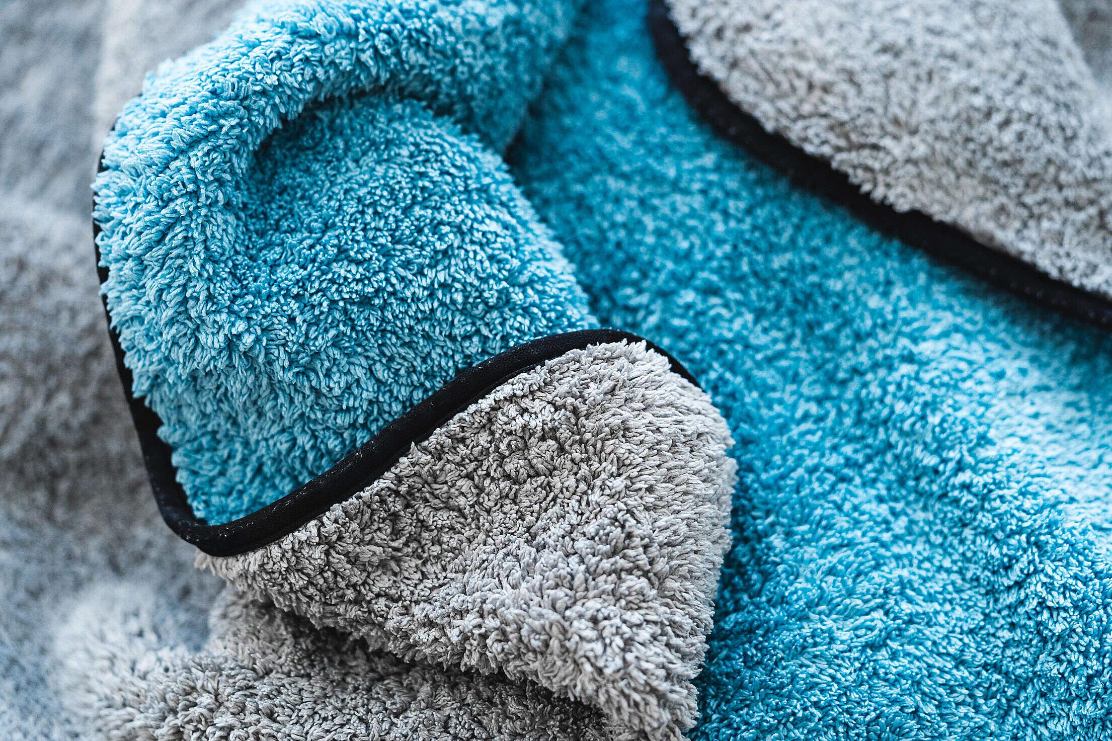 Car Detailing Drying Towel Free Stock Photo
