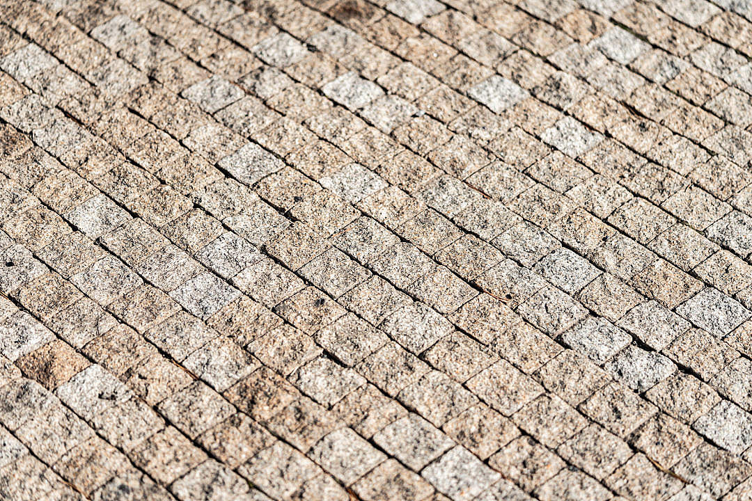 Download Castle Pavement Made of Stone Cubes FREE Stock Photo