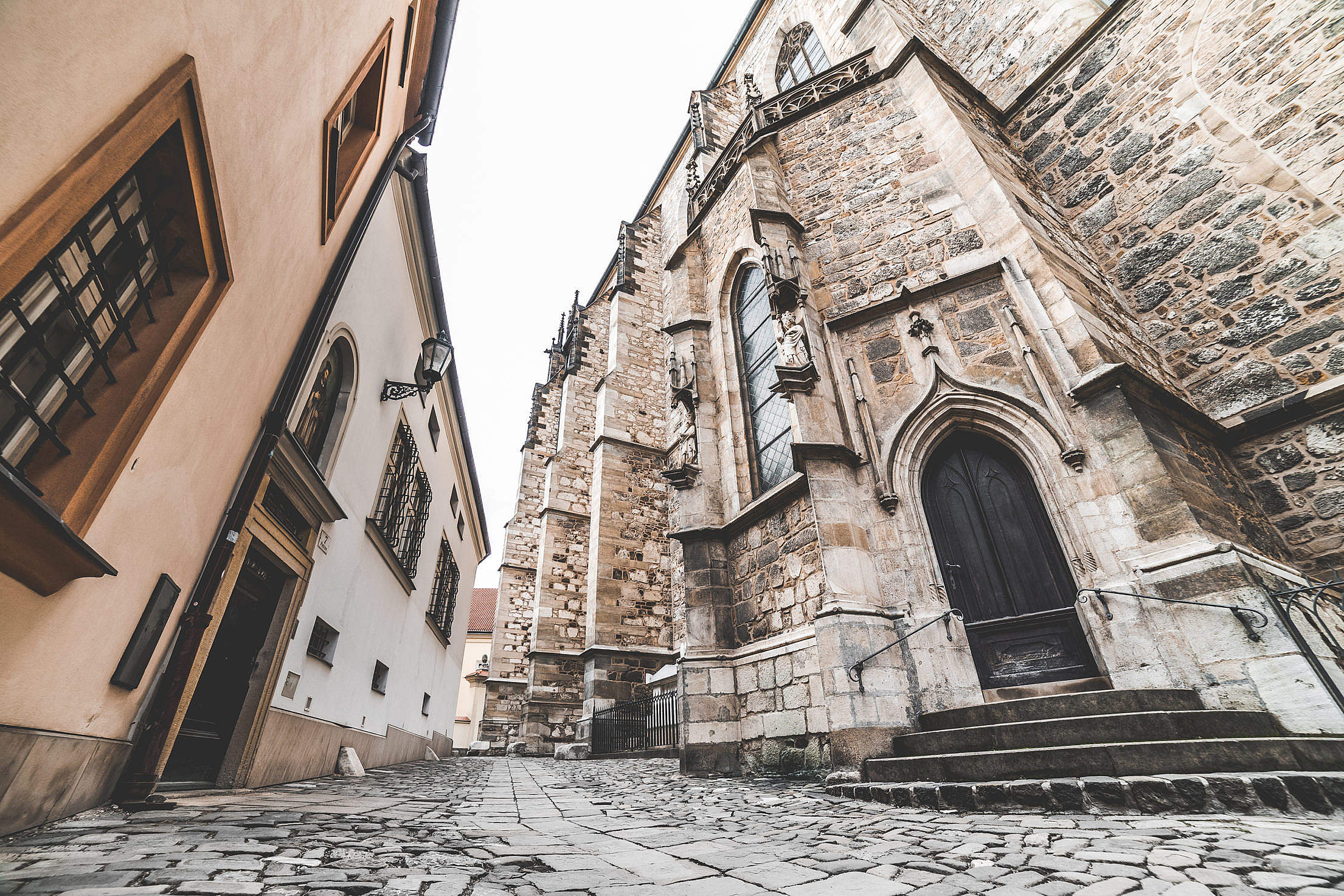 Cathedral of St. Peter and Paul in Brno, Czech Republic Free Stock Photo