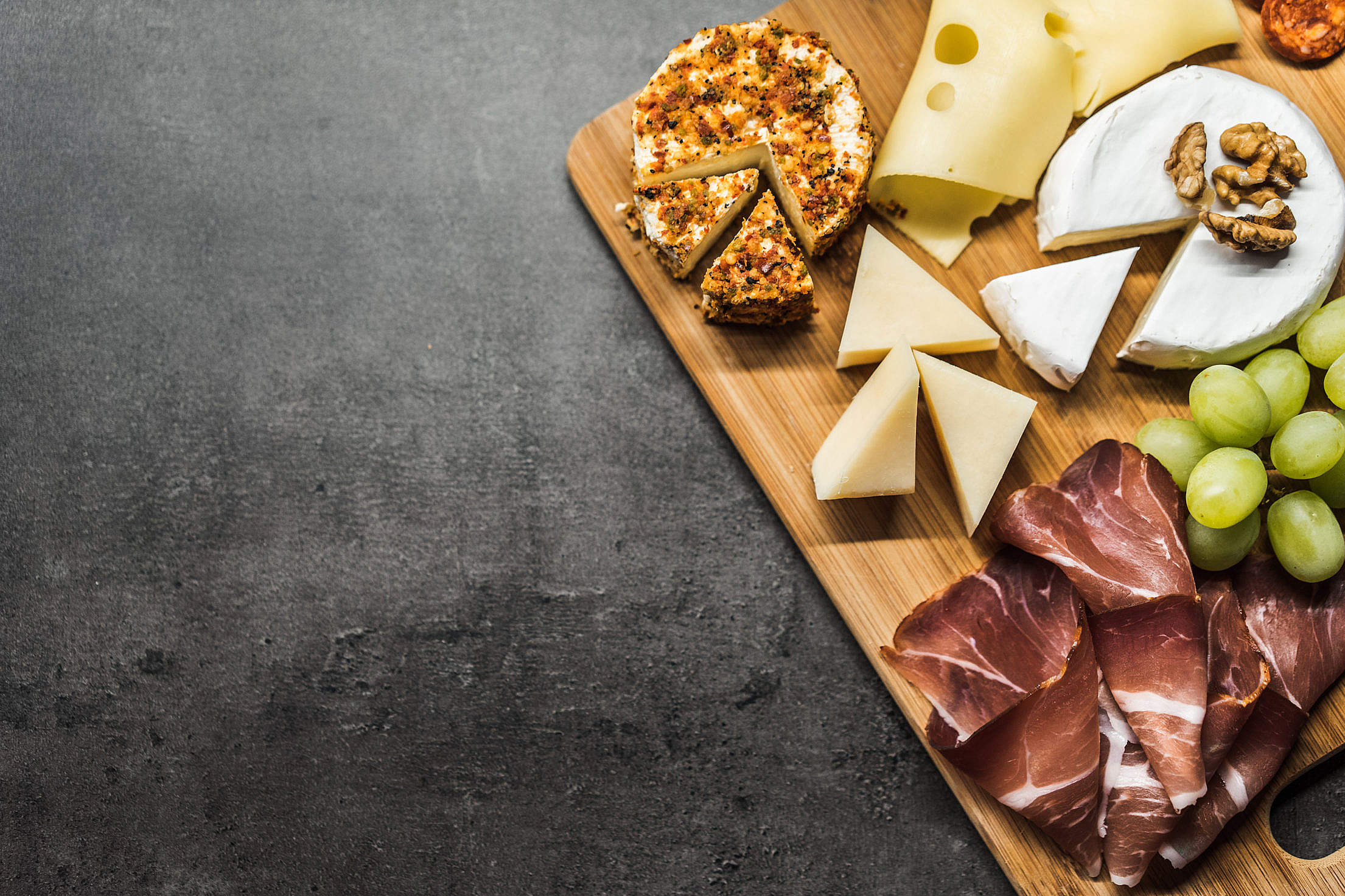 Cheese Plate Free Stock Photo
