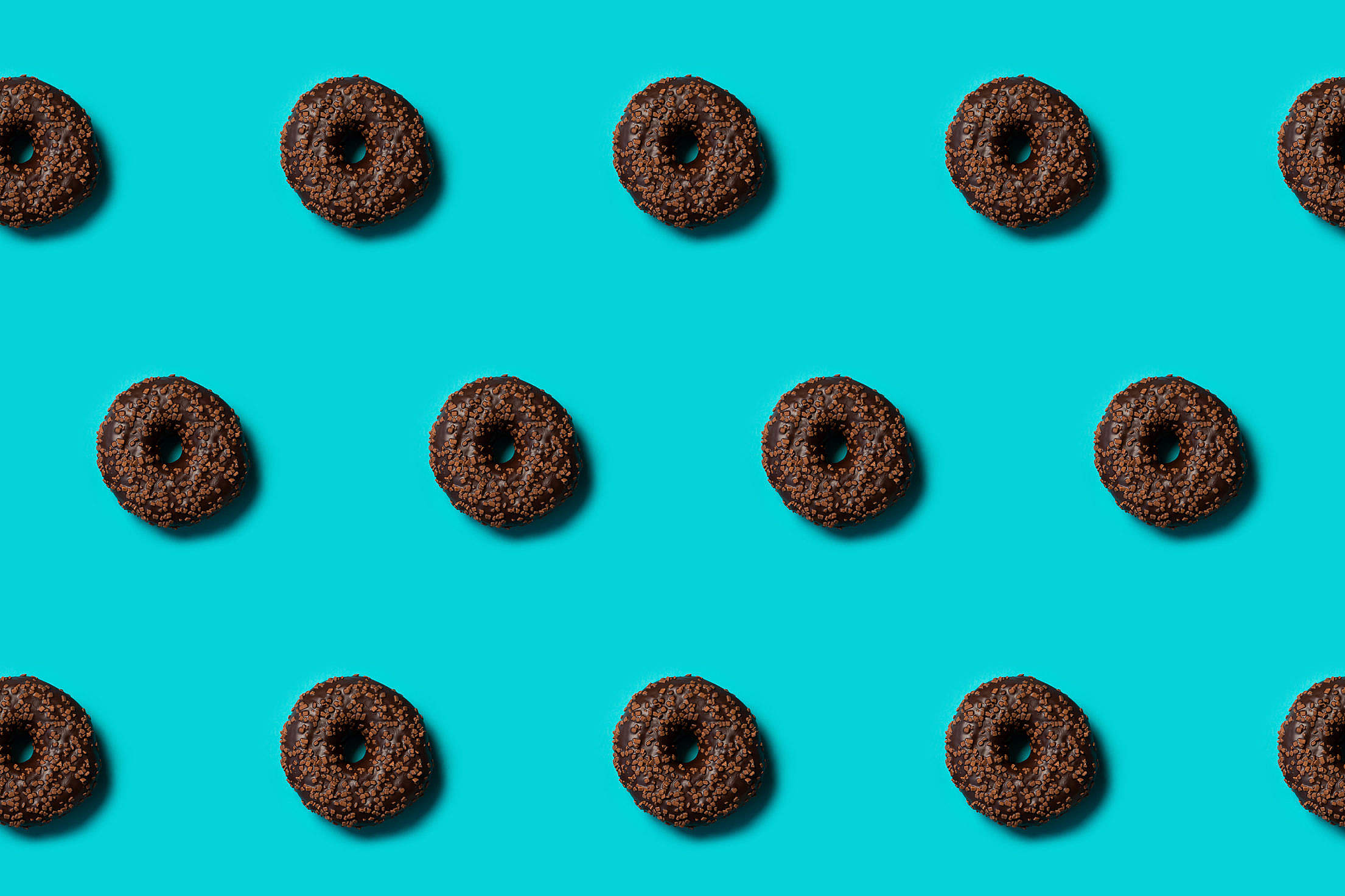 Chocolate Donuts Free Stock Photo