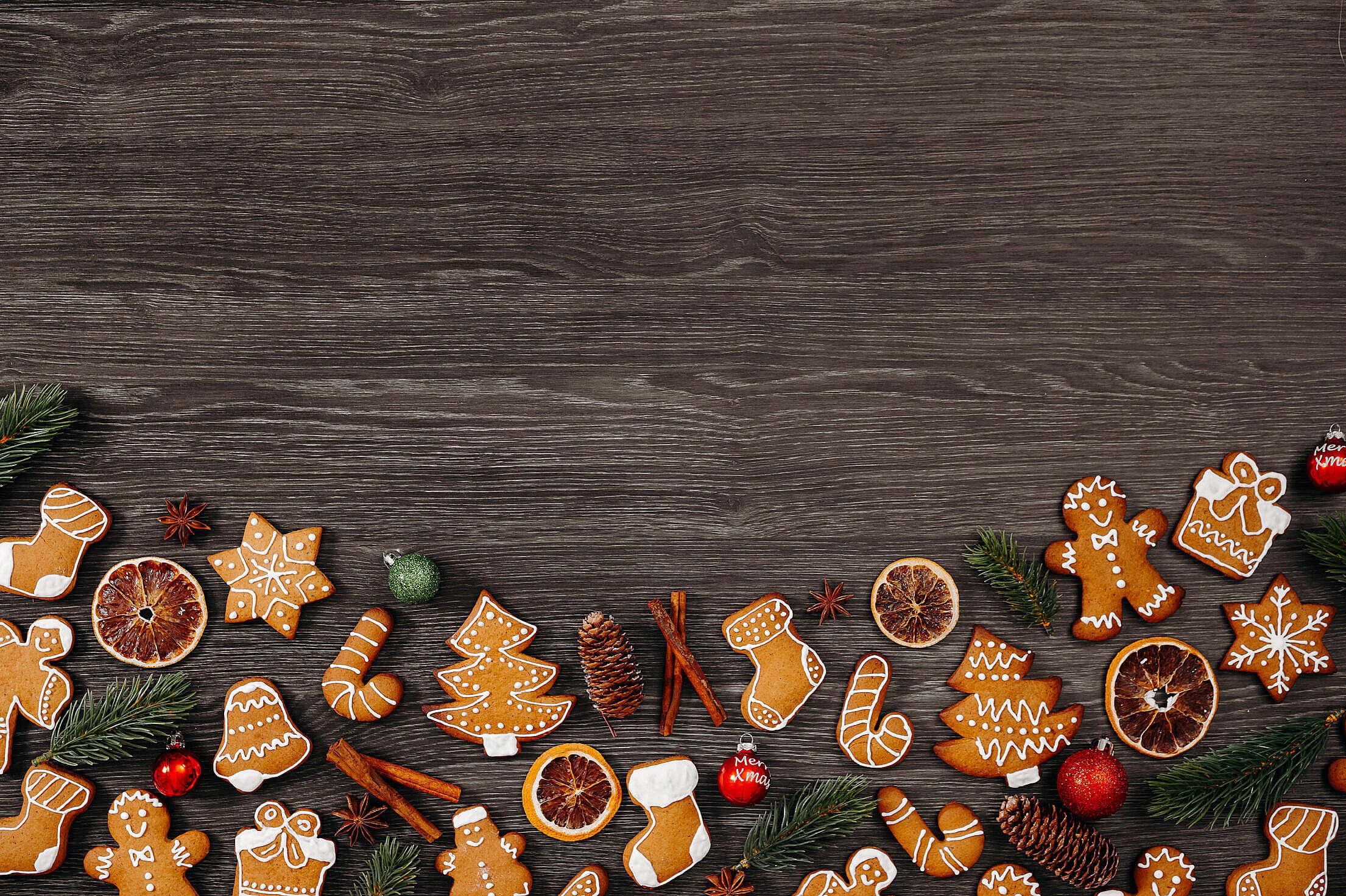 Christmas Background Free Stock Photo