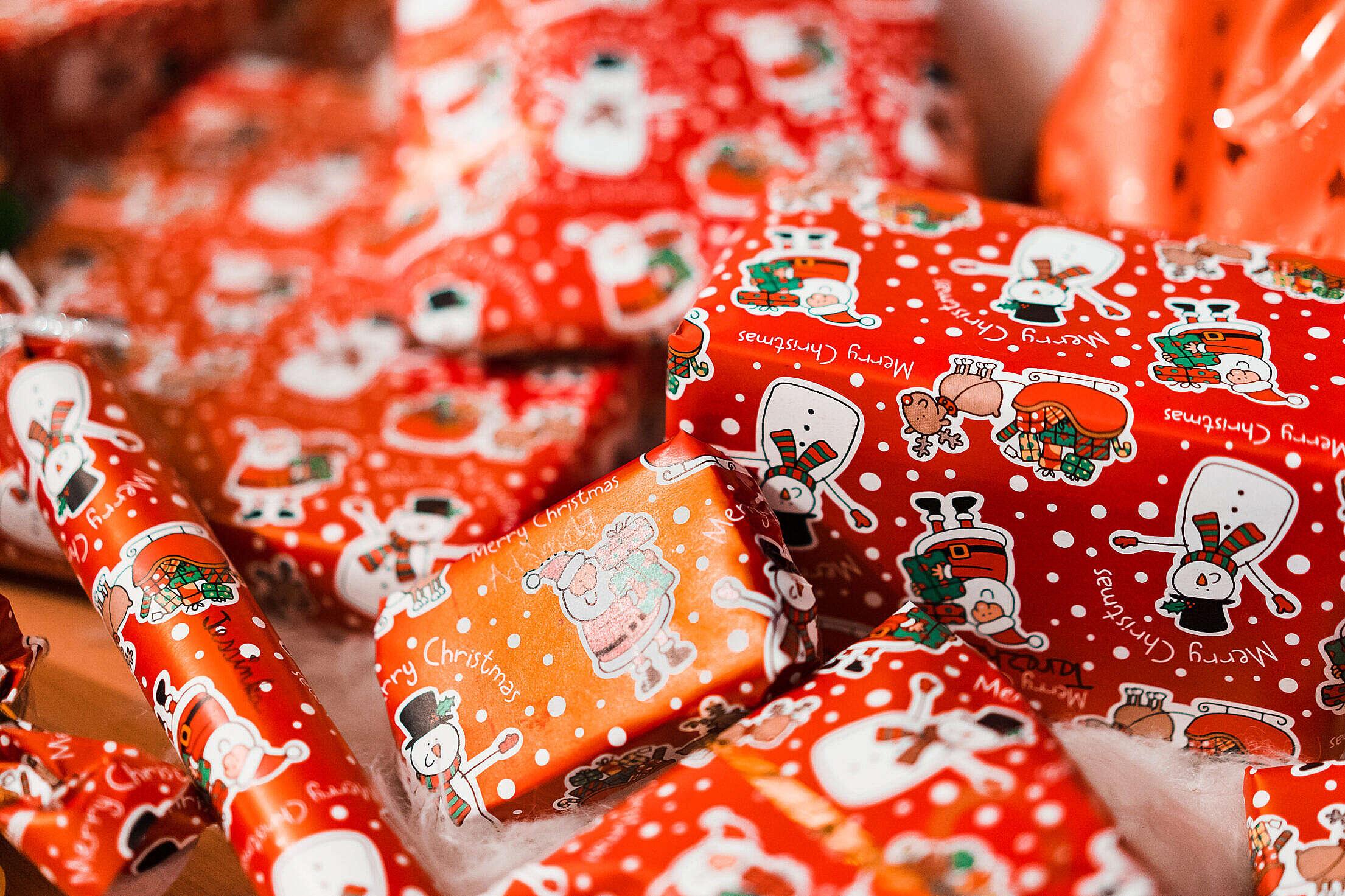 Christmas Gifts Free Stock Photo