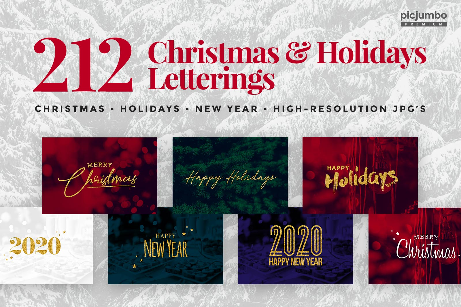 Holidays & Christmas Letterings