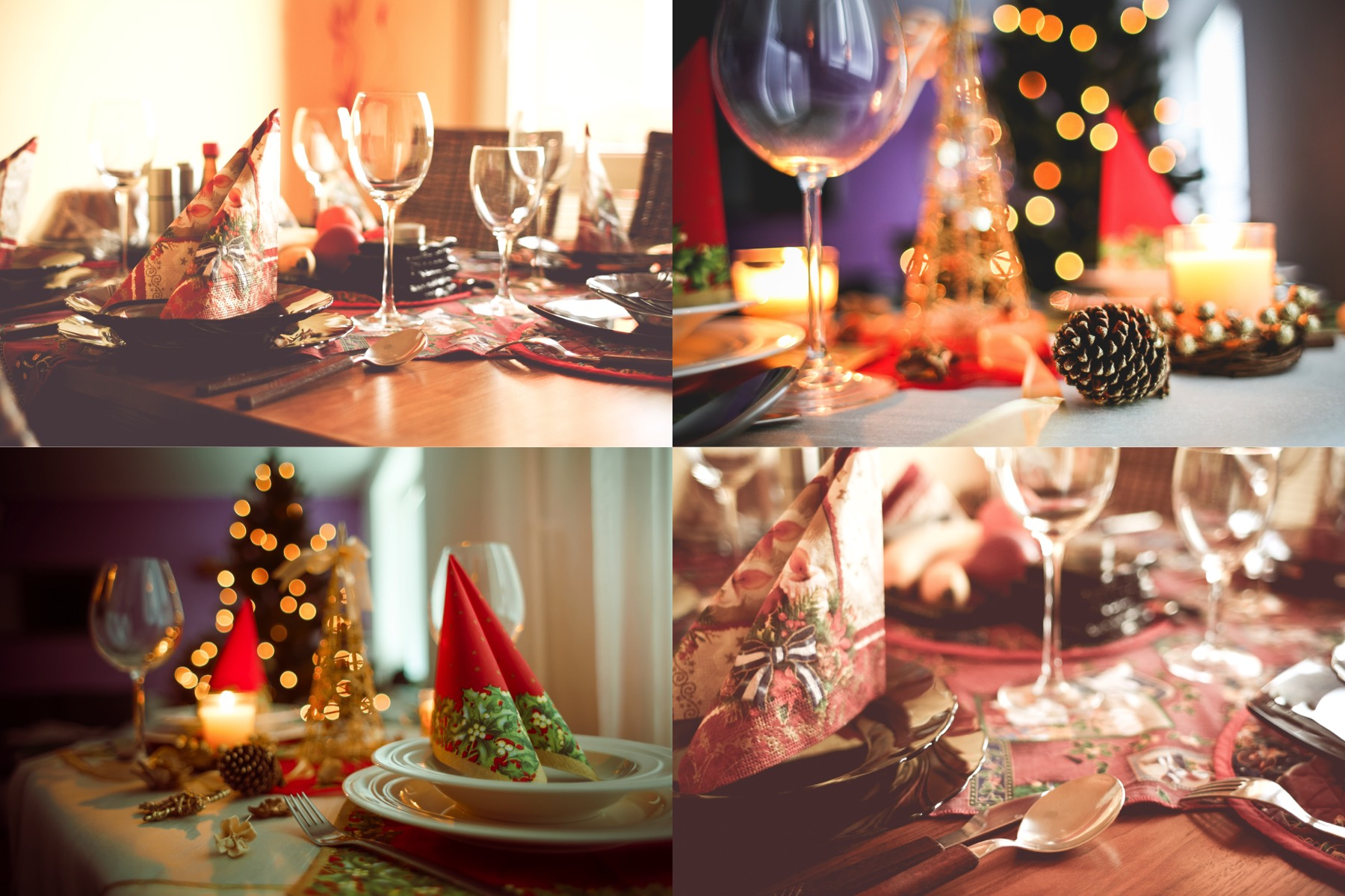 christmas table setting collection preview 2