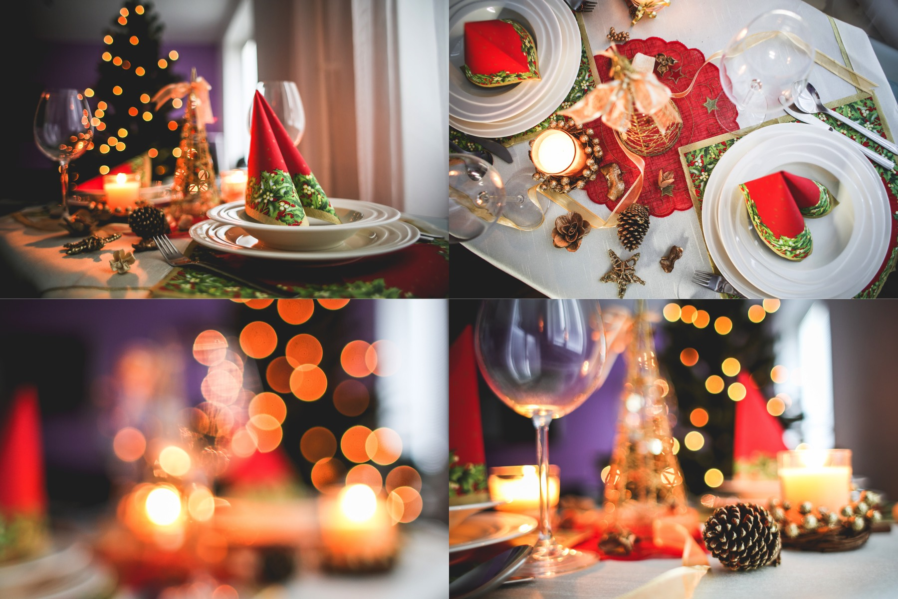 christmas table setting collection preview