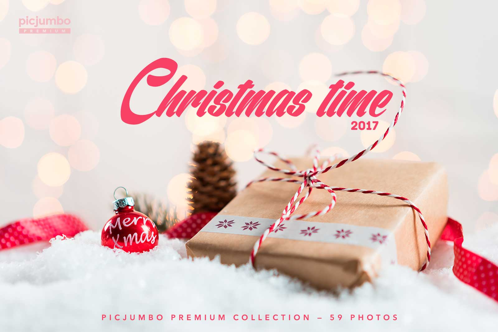 Christmas time 2017 — get it now in picjumbo PREMIUM!