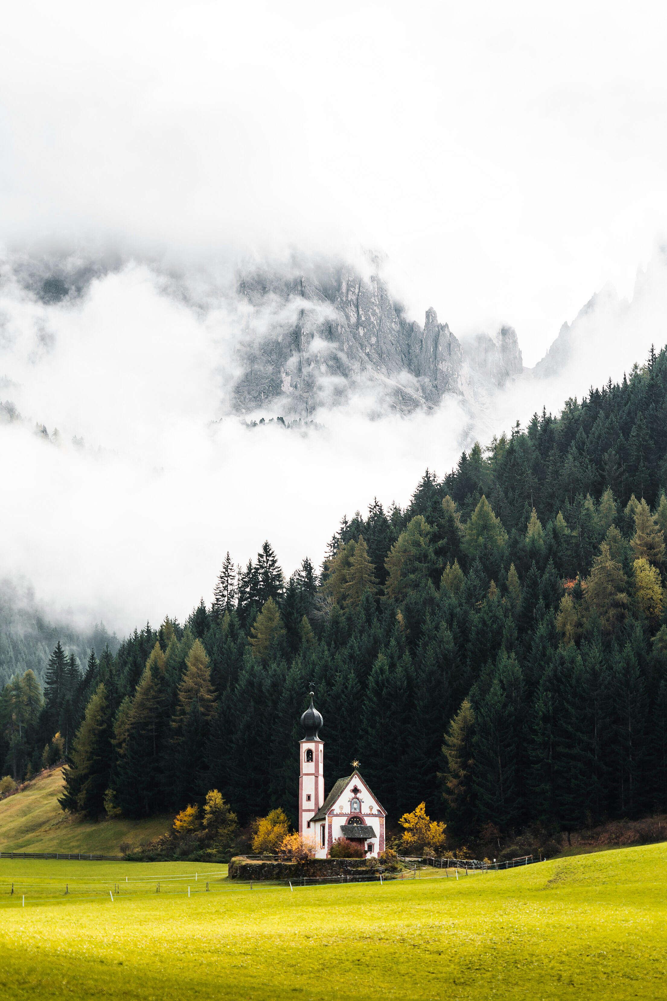 Church of Saint John in Ranui, Italy Free Stock Photo