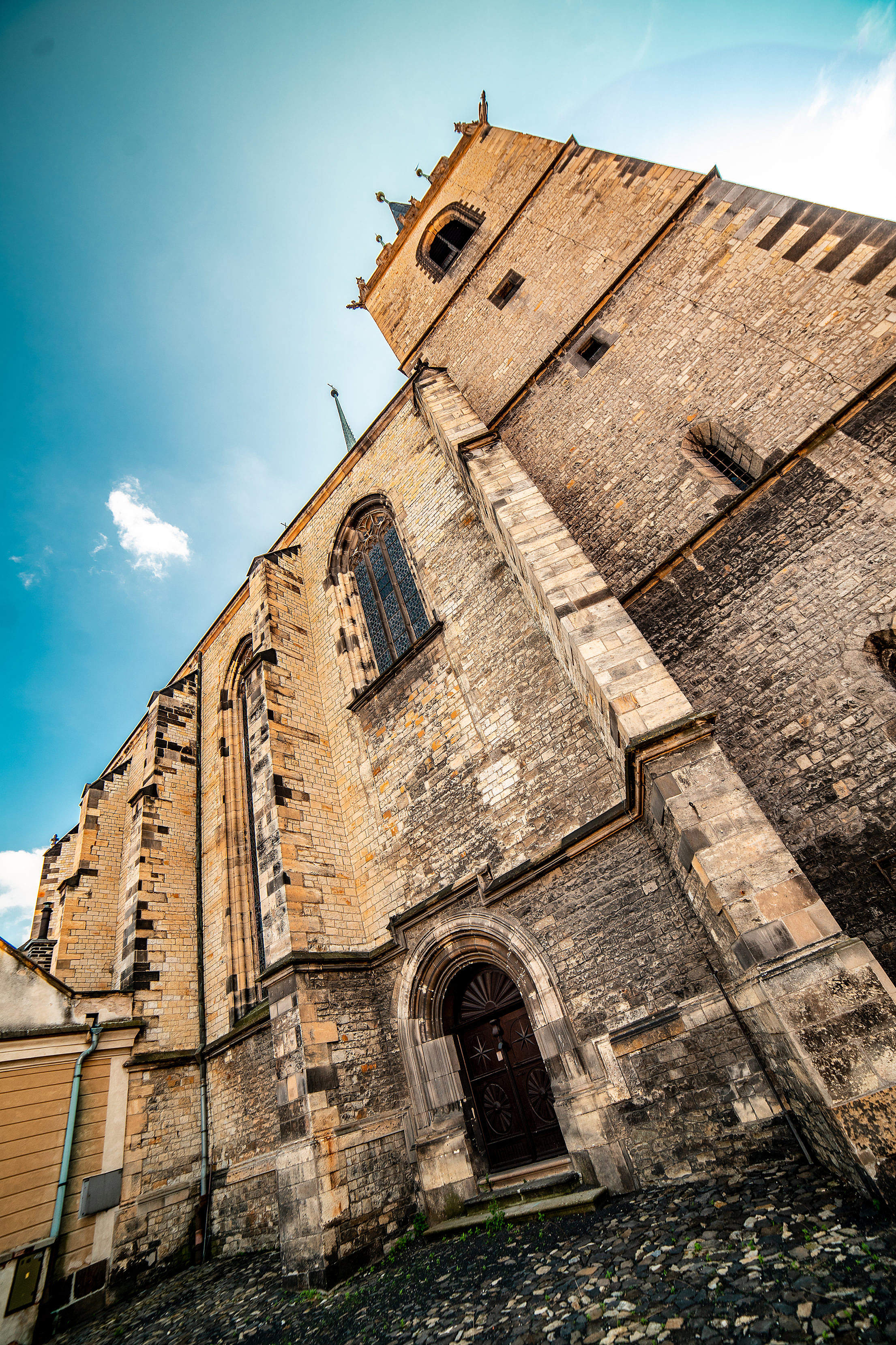 Church of St. Nicholas, Louny Free Stock Photo