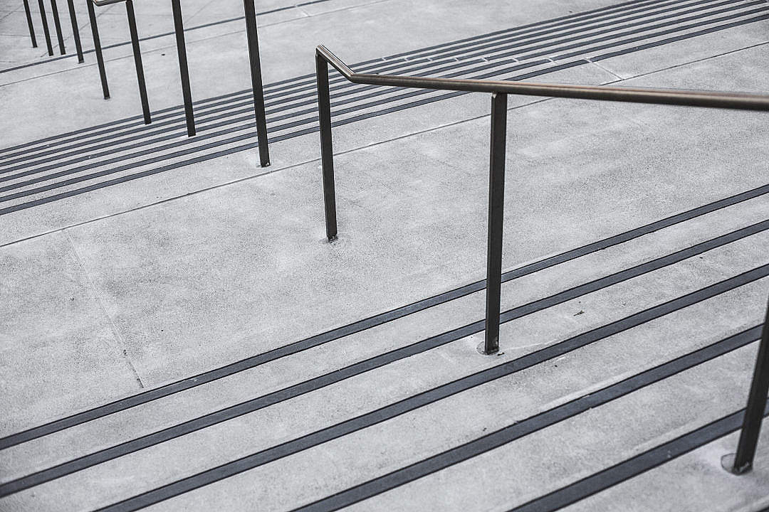 Download Clean Minimalistic Concrete Stairs FREE Stock Photo