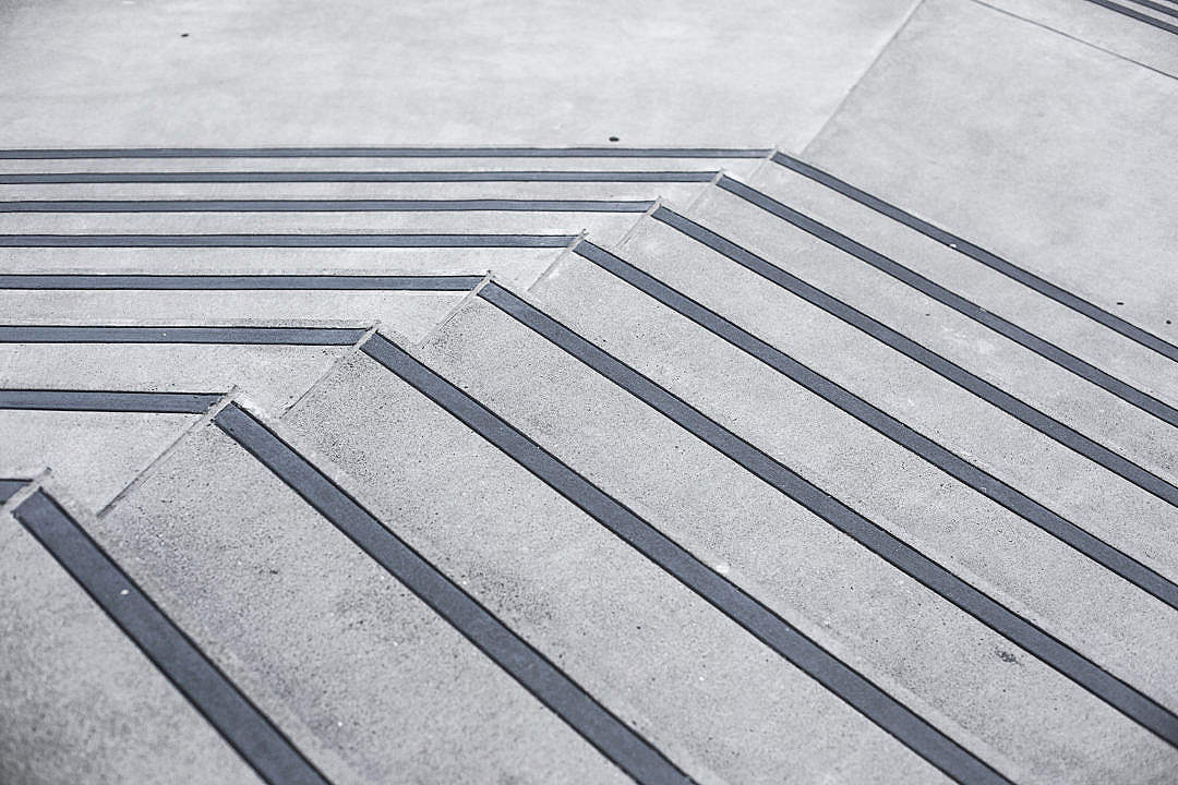 Download Clean Minimalistic Concrete Stairs #2 FREE Stock Photo
