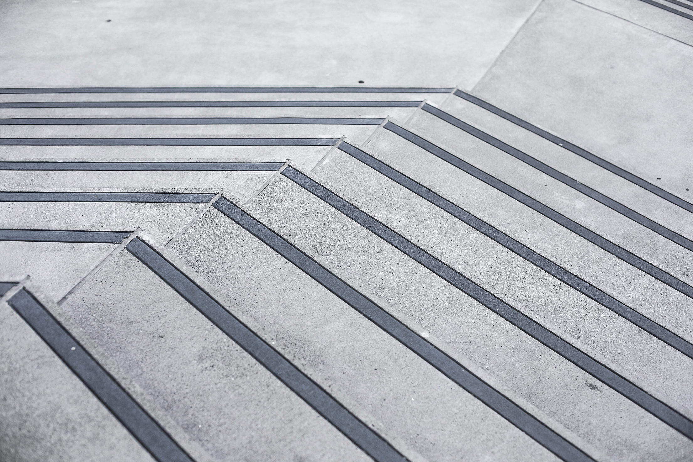 Clean Minimalistic Concrete Stairs #2 Free Stock Photo