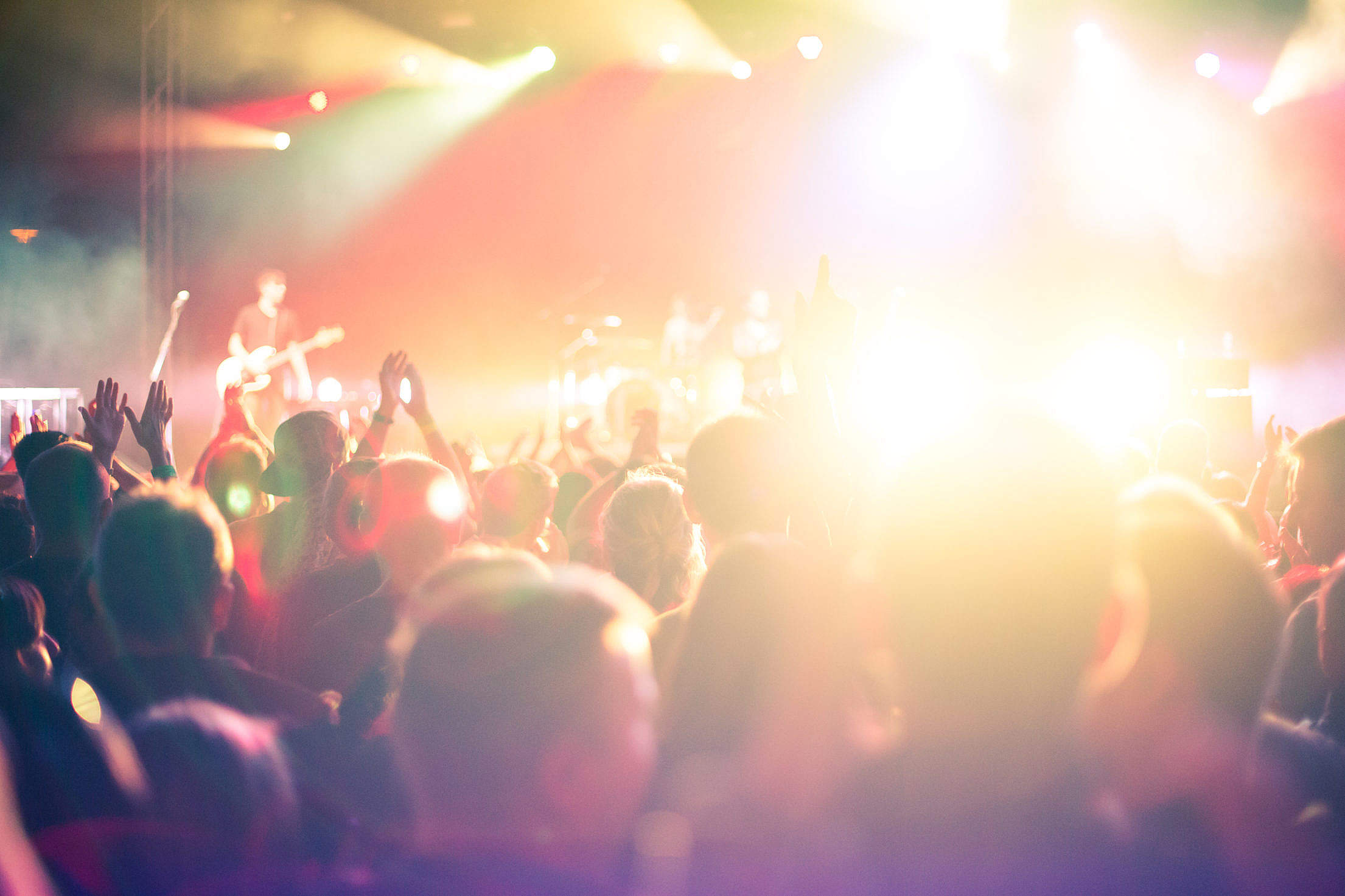 Download Club Night Party Concert Crowd of People Free Stock Photo