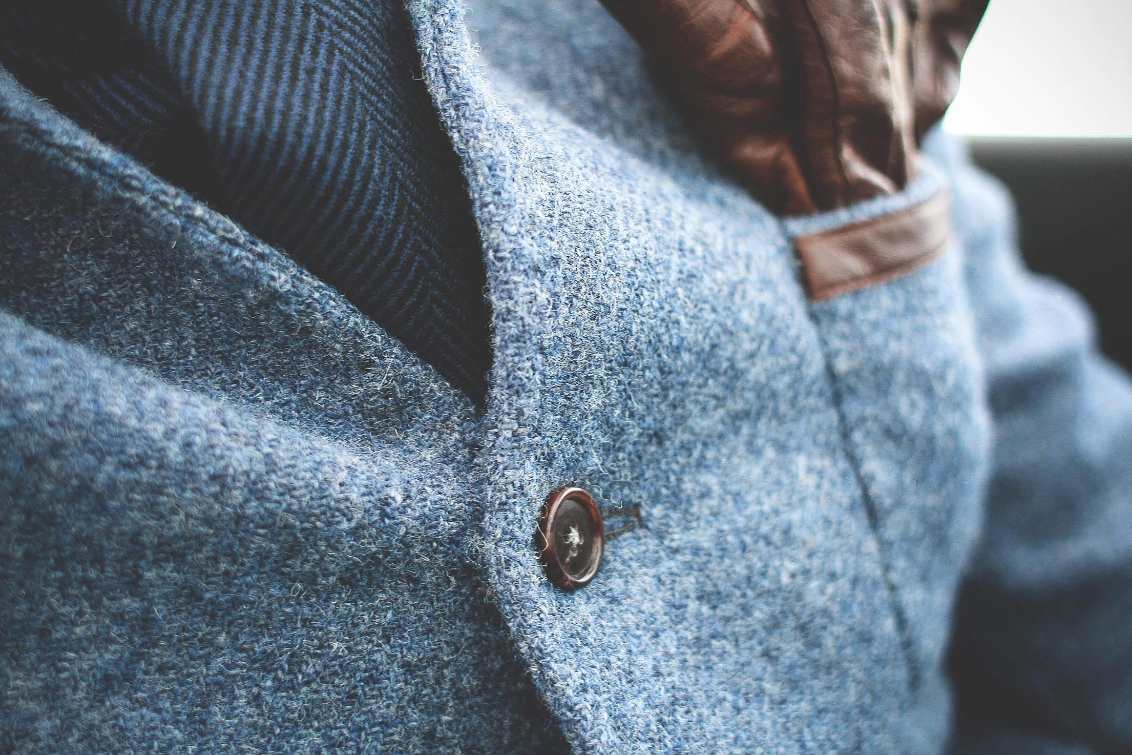 Coat Button Free Stock Photo