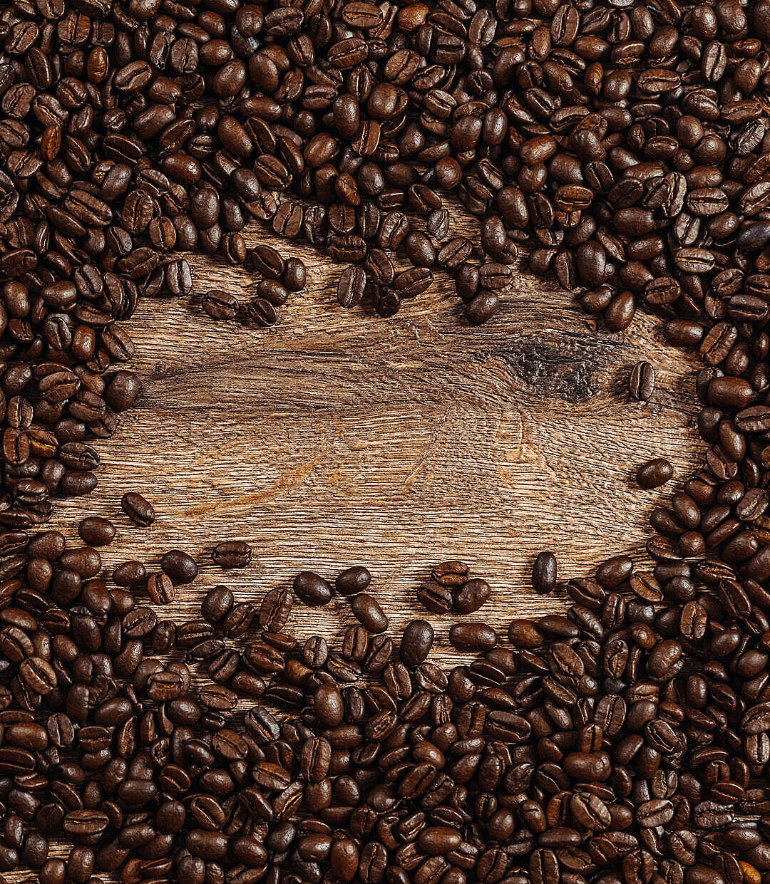 Download Coffee Beans Background with Space For Text FREE Stock Photo