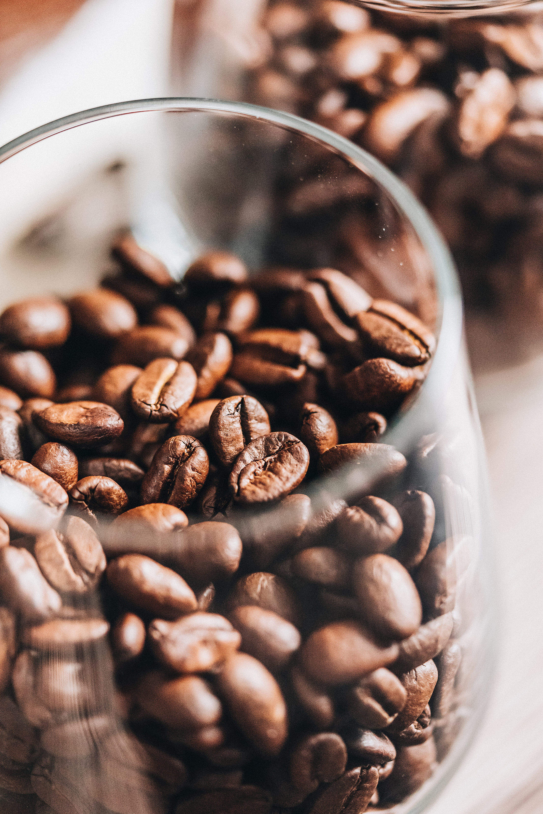 Coffee Beans Vertical Free Photo