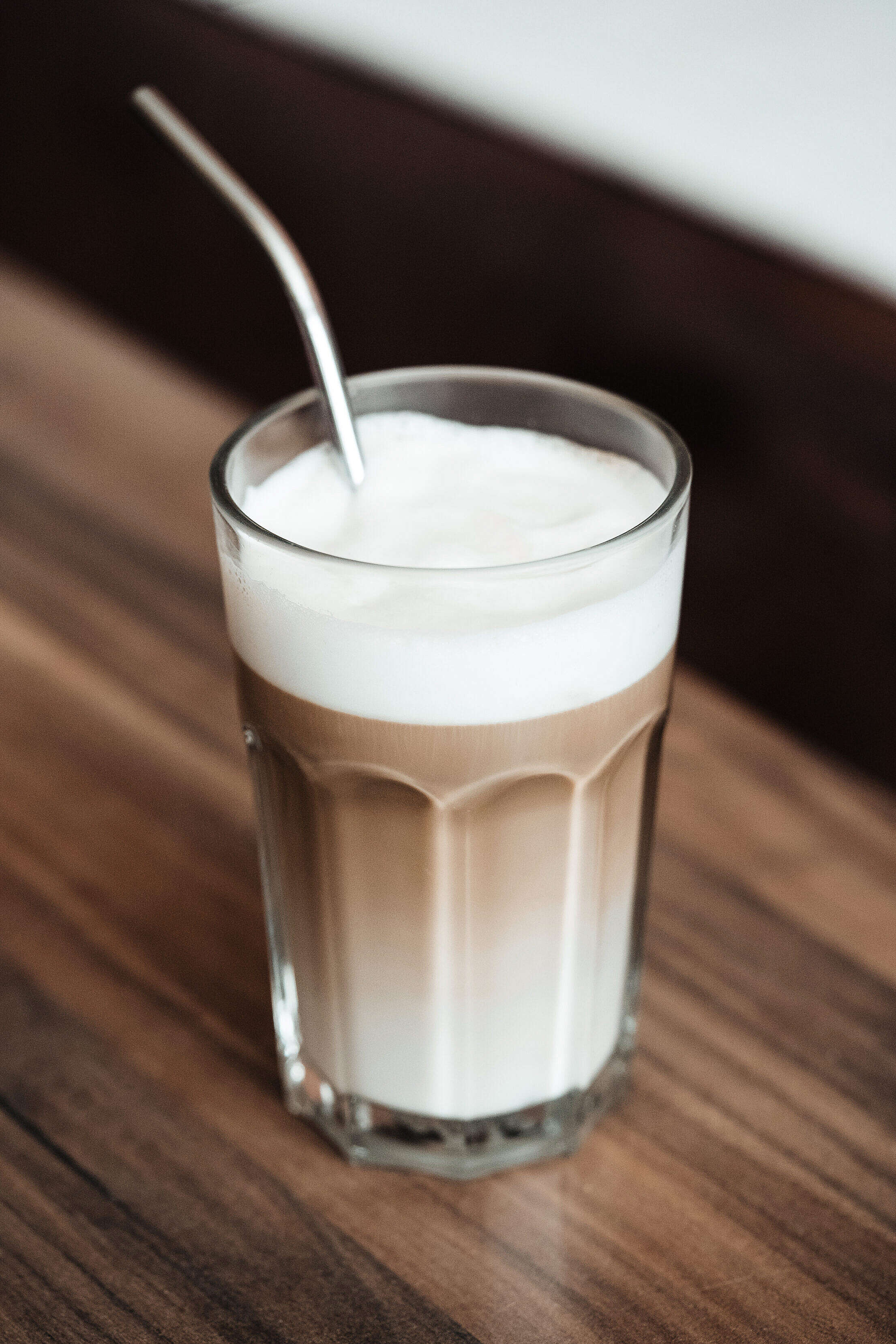 Coffee Latte Macchiato Free Stock Photo