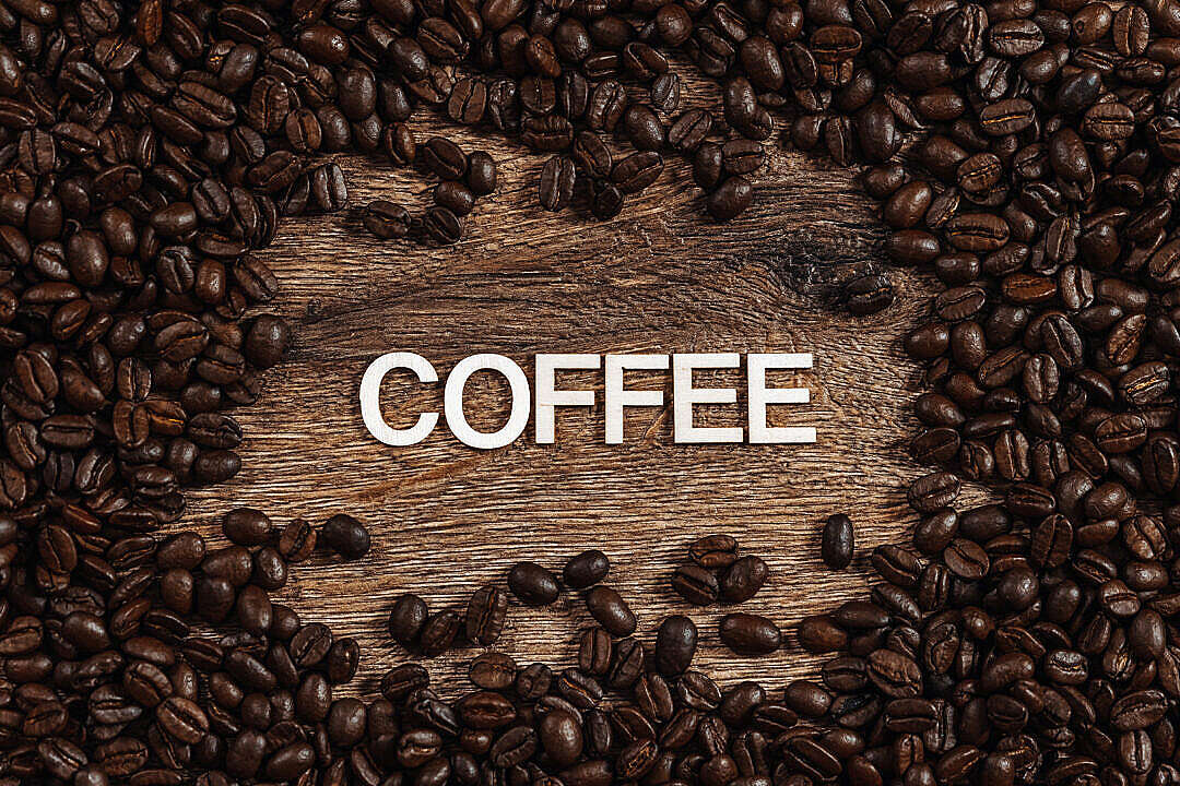 Download Coffee Typography FREE Stock Photo