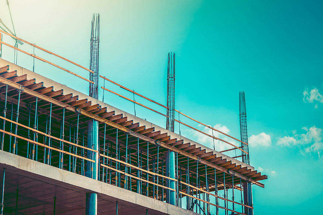 Download Construction Site FREE Stock Photo