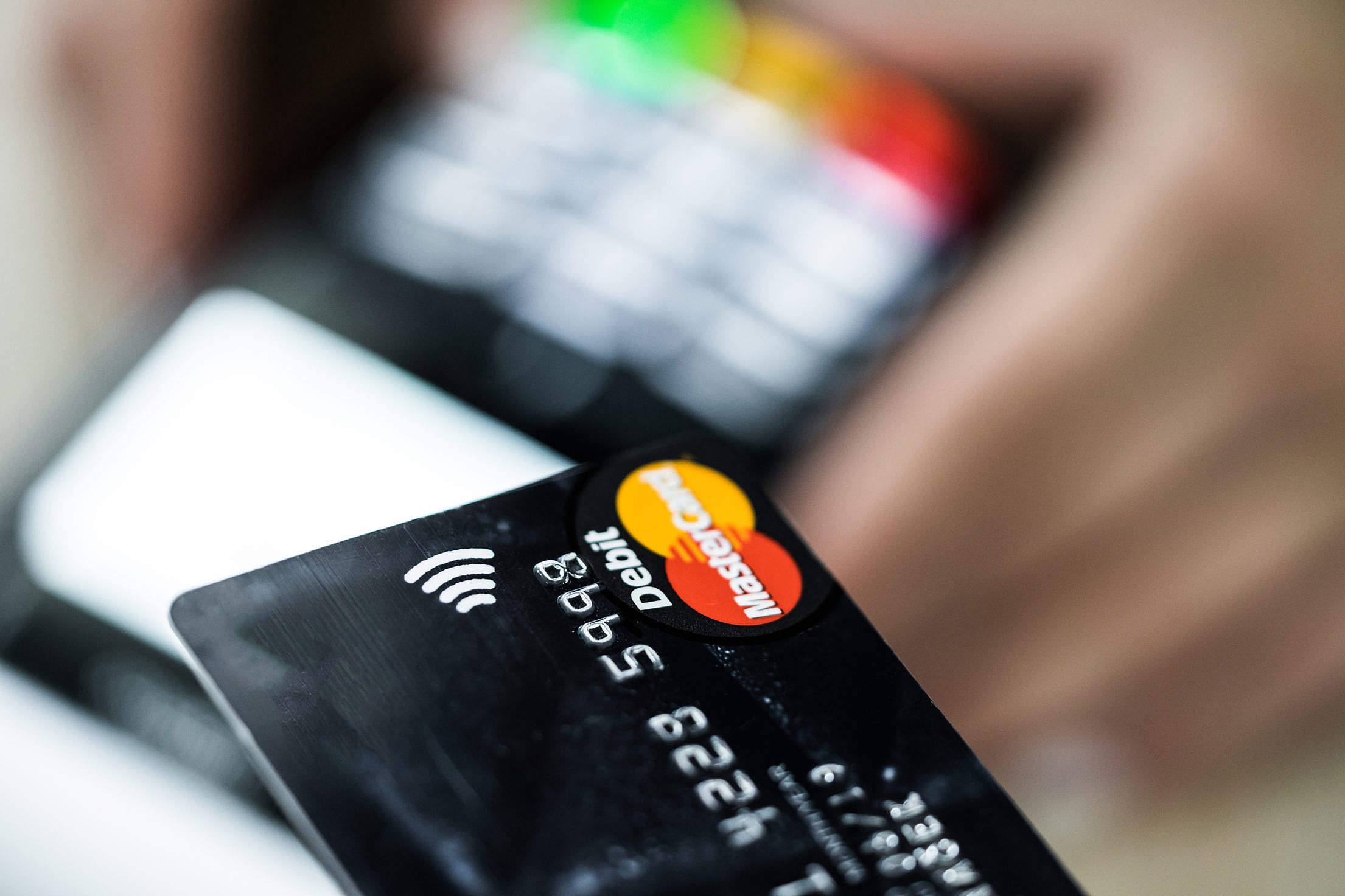 Contactless Credit Card Payment Free Stock Photo