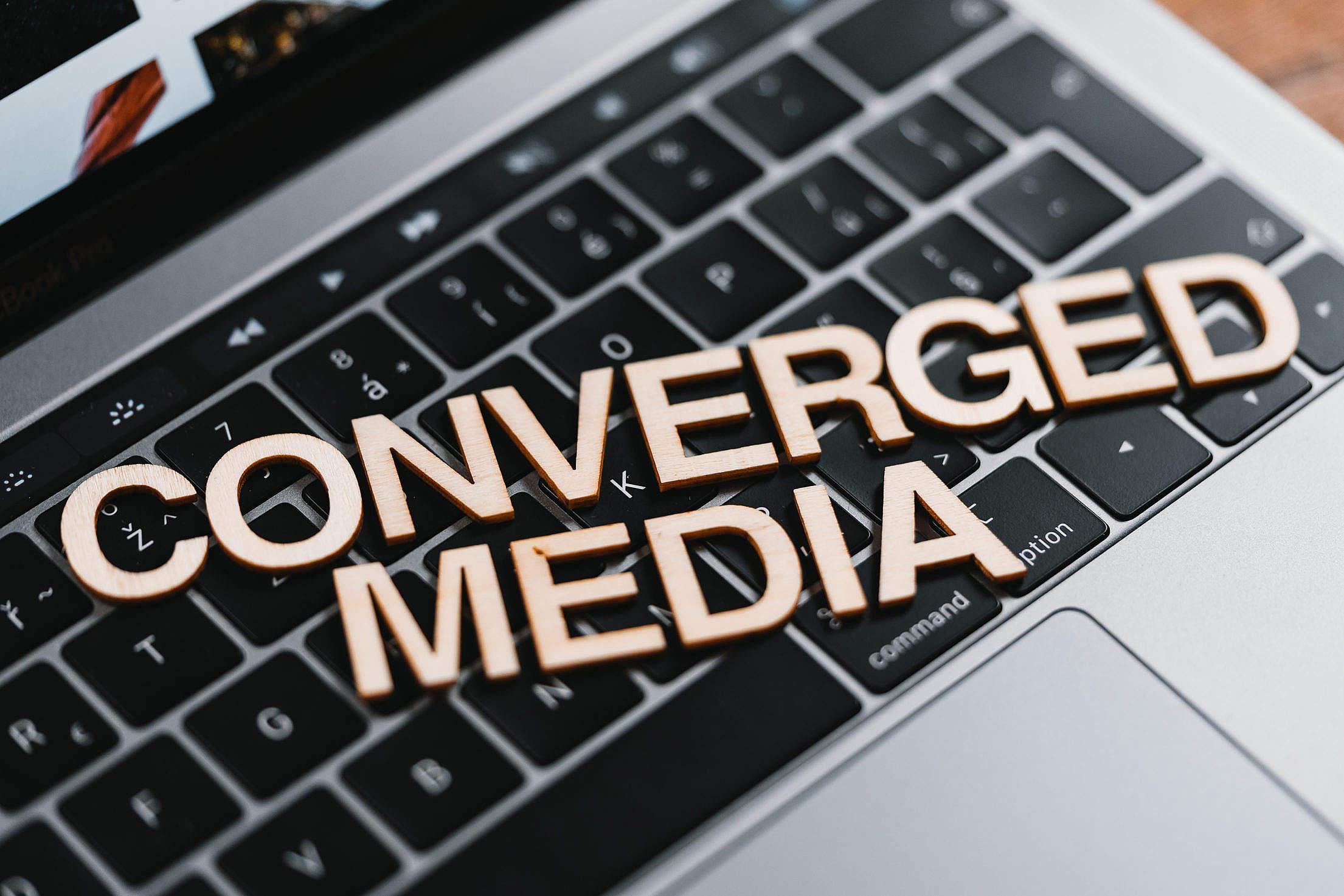 Converged Media Free Stock Photo