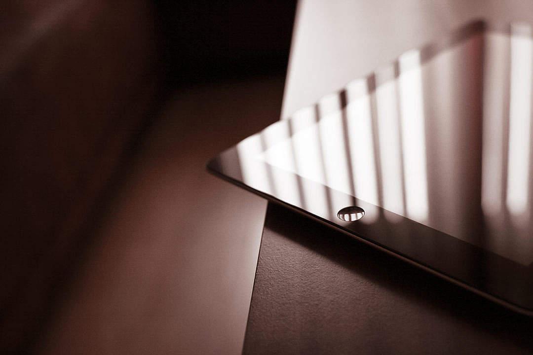 Download Corner of the iPad FREE Stock Photo