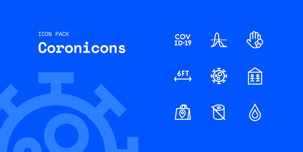 Coronavirus Covid-19 Icon Pack