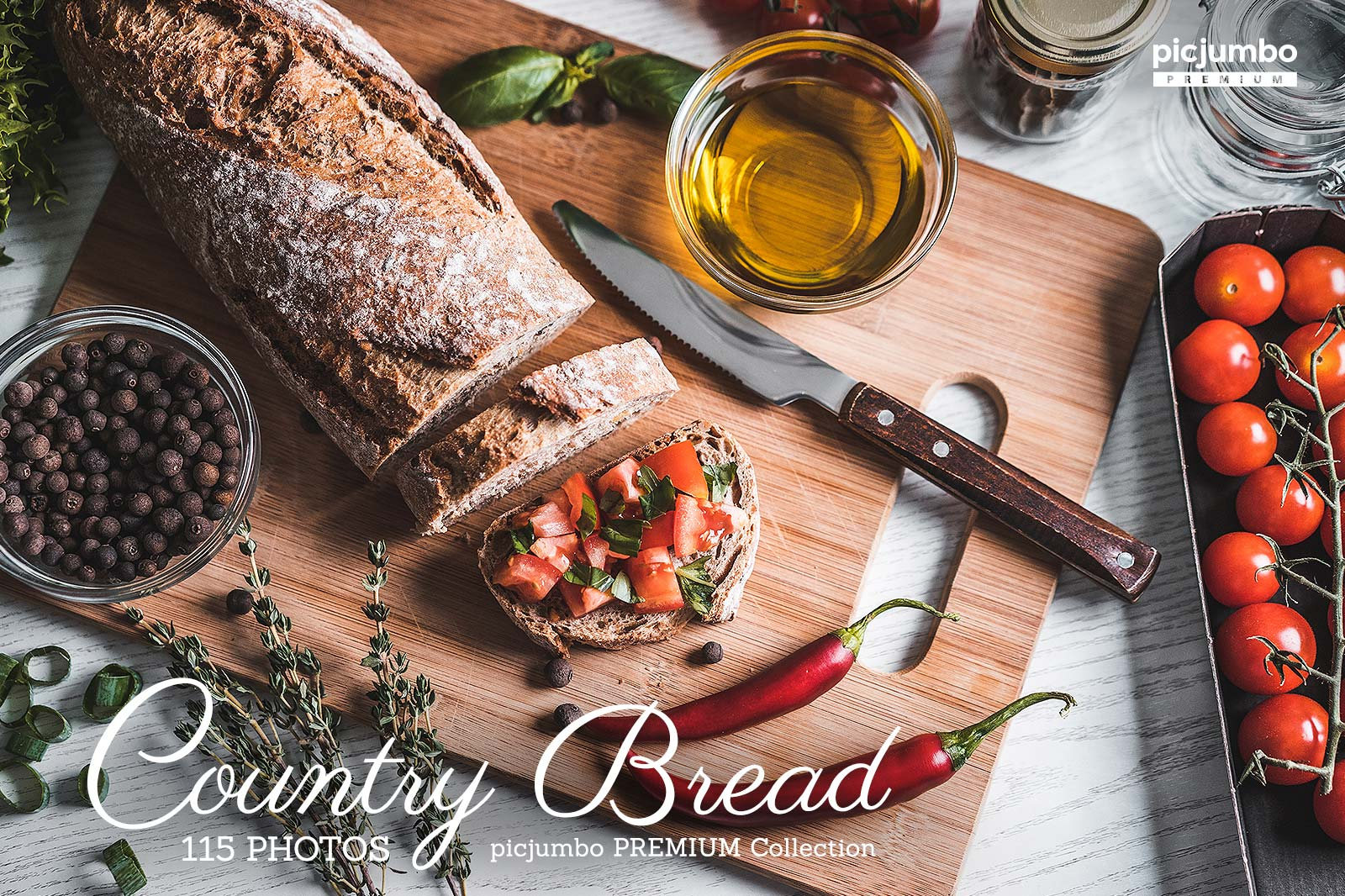 Country Bread — Join PREMIUM and get instant access to this collection!