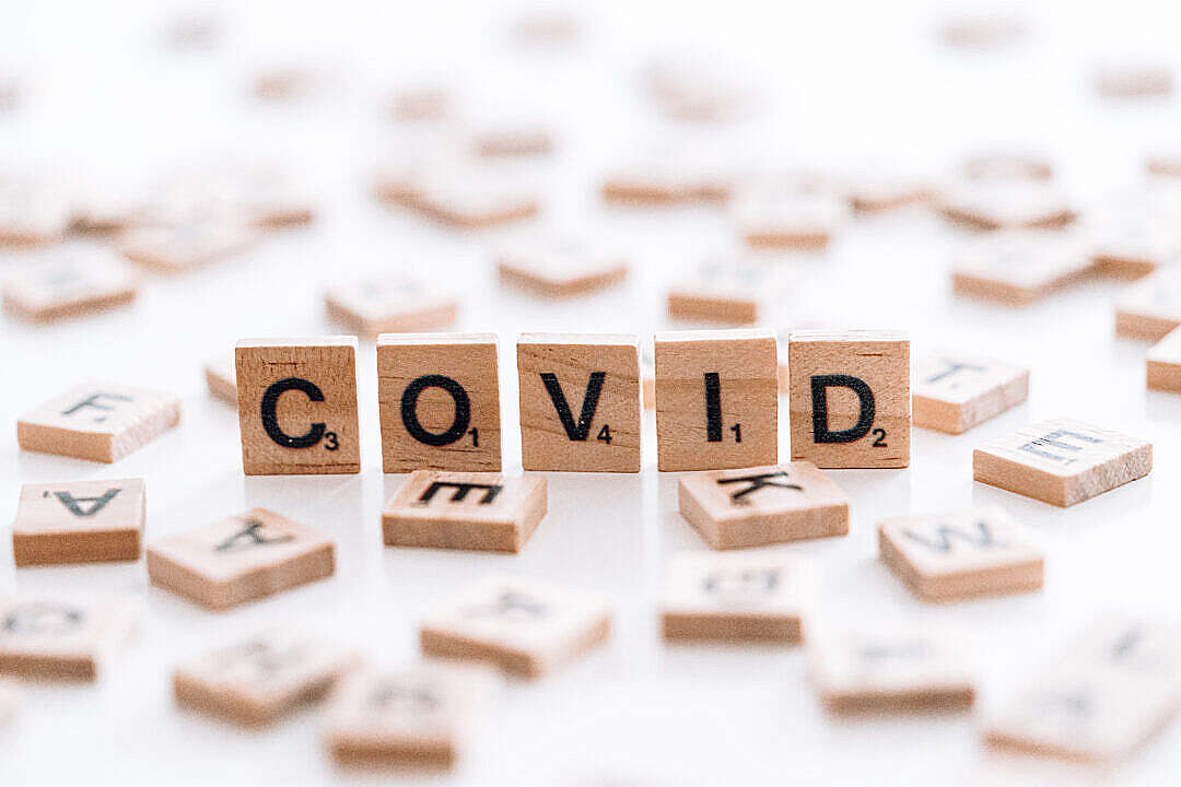 Download COVID FREE Stock Photo