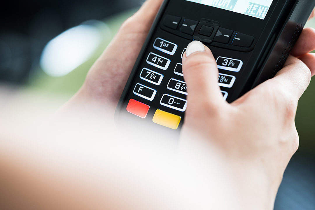 Download Credit Card Terminal FREE Stock Photo