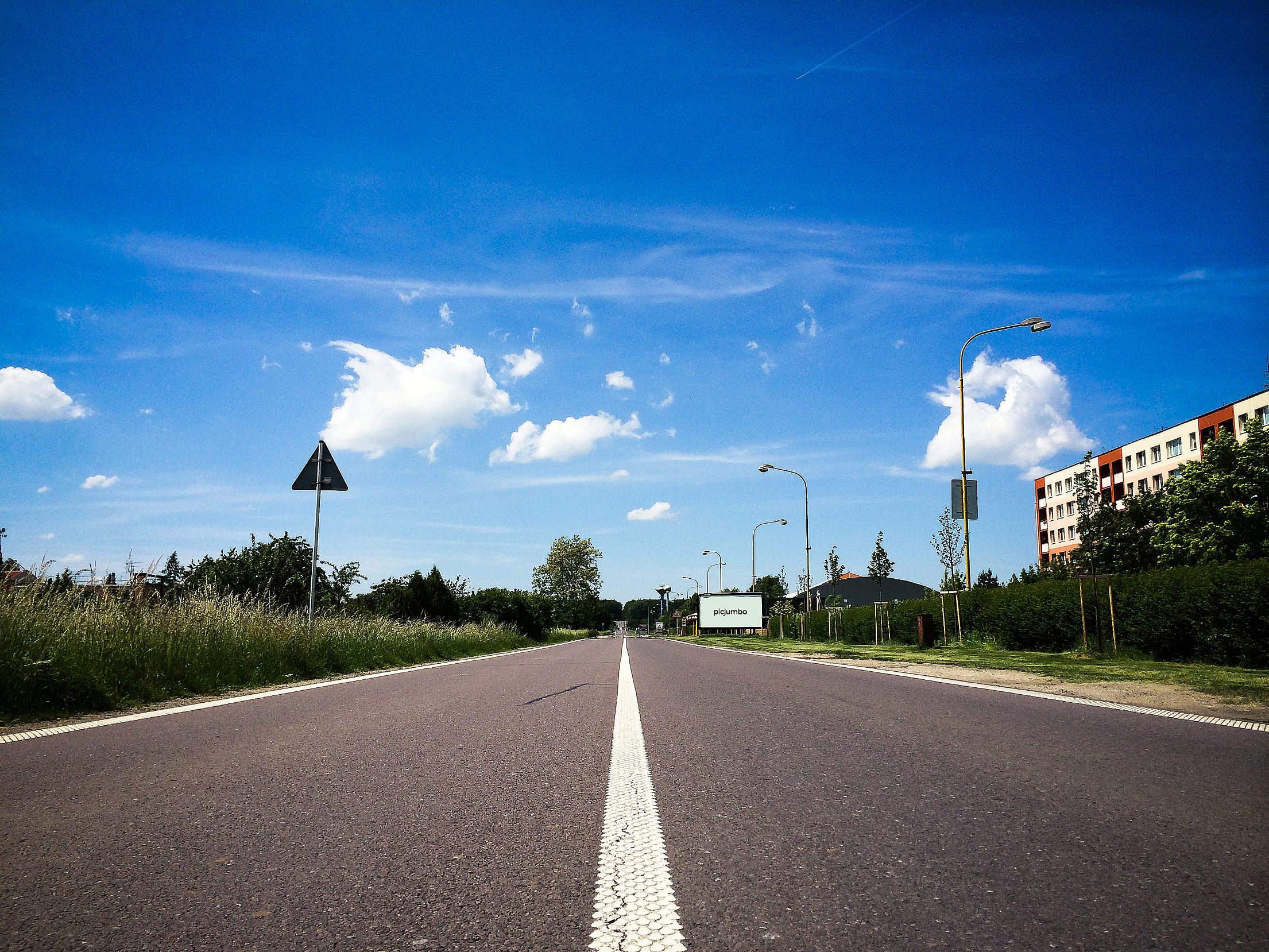 Czech Road Free Stock Photo