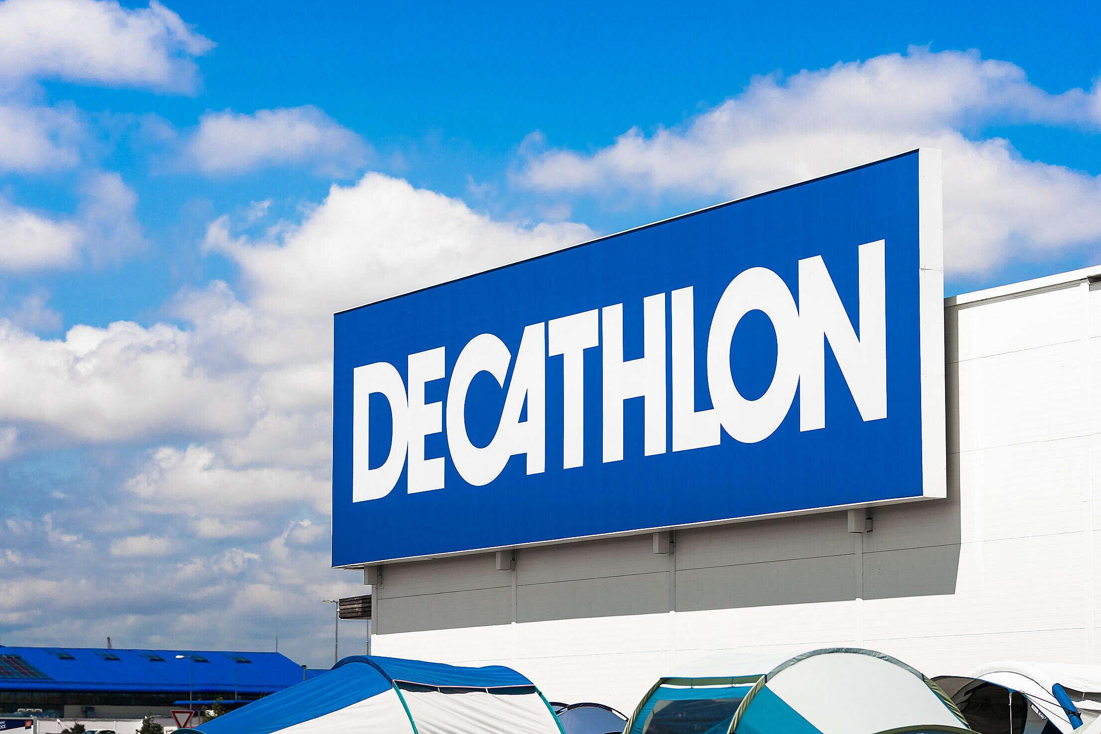 Decathlon Store Logo Free Stock Photo