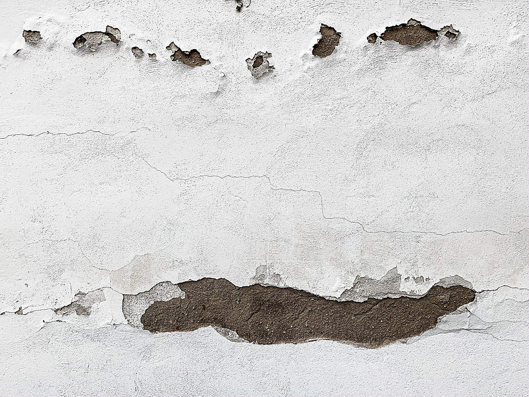 Download Destroyed Old Plaster Wall FREE Stock Photo