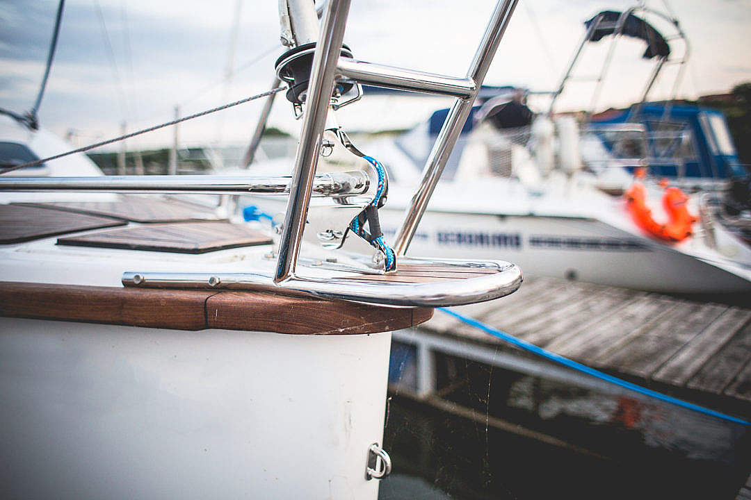 Download Detail of Sailboat Bow FREE Stock Photo