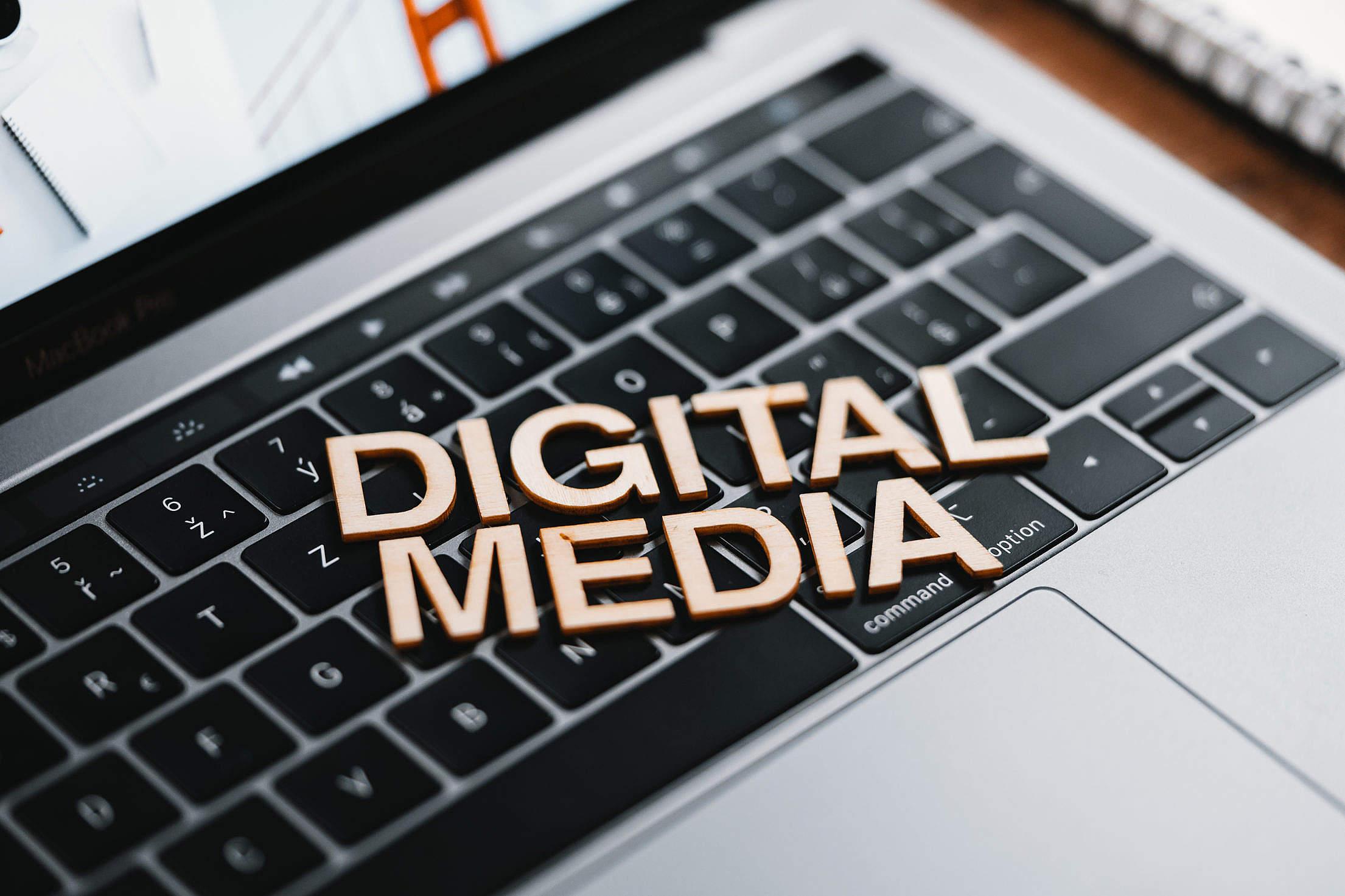 Digital Media Industry Free Stock Photo