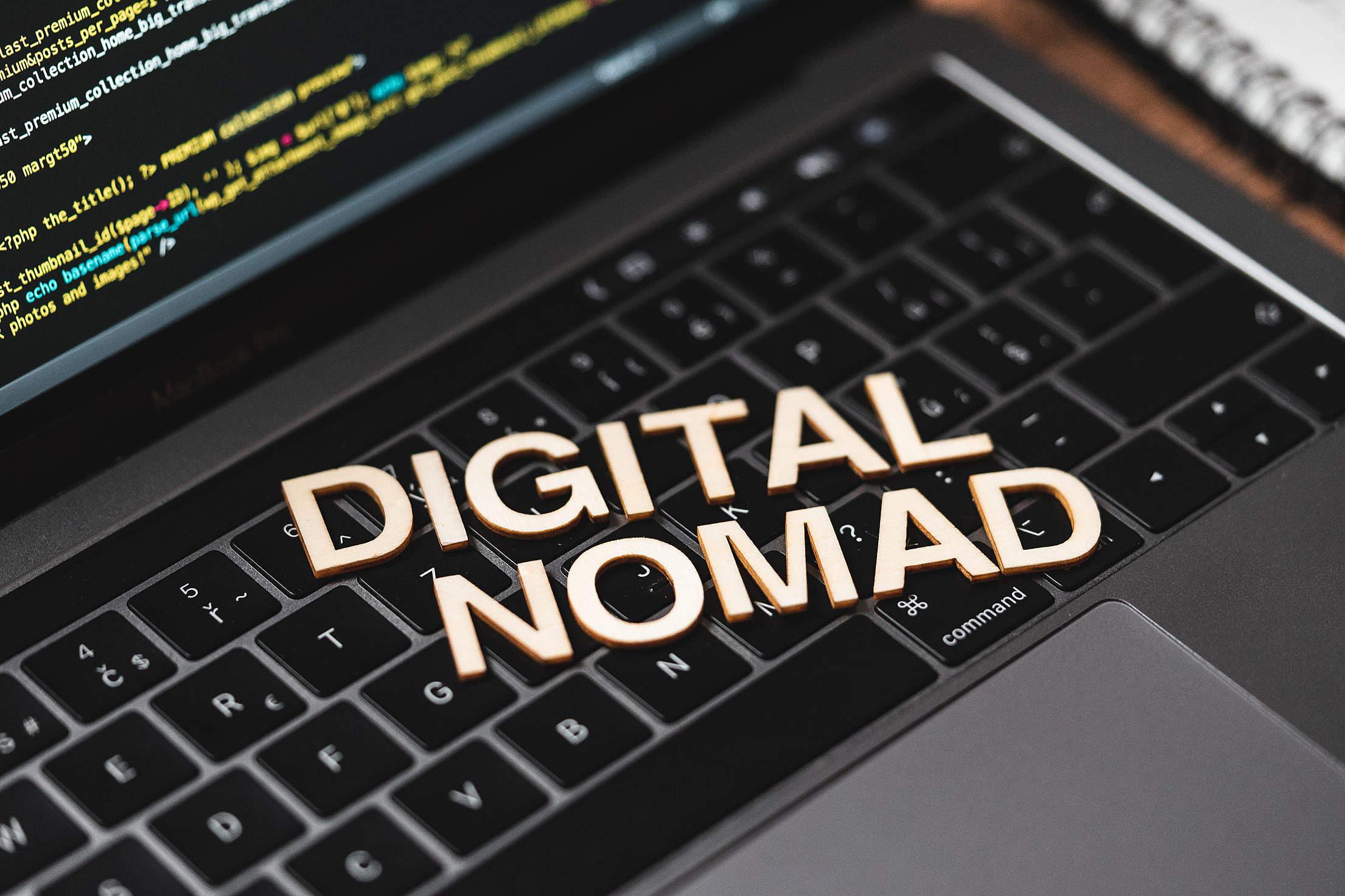 Digital Nomad Free Stock Photo