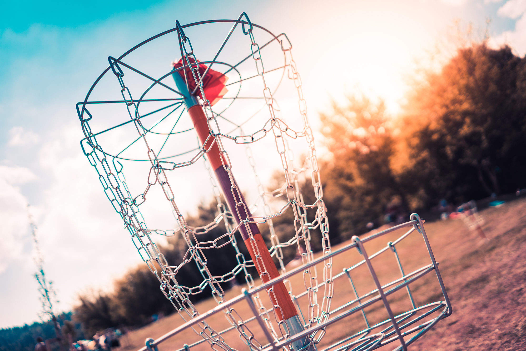 Discgolf Target Free Stock Photo