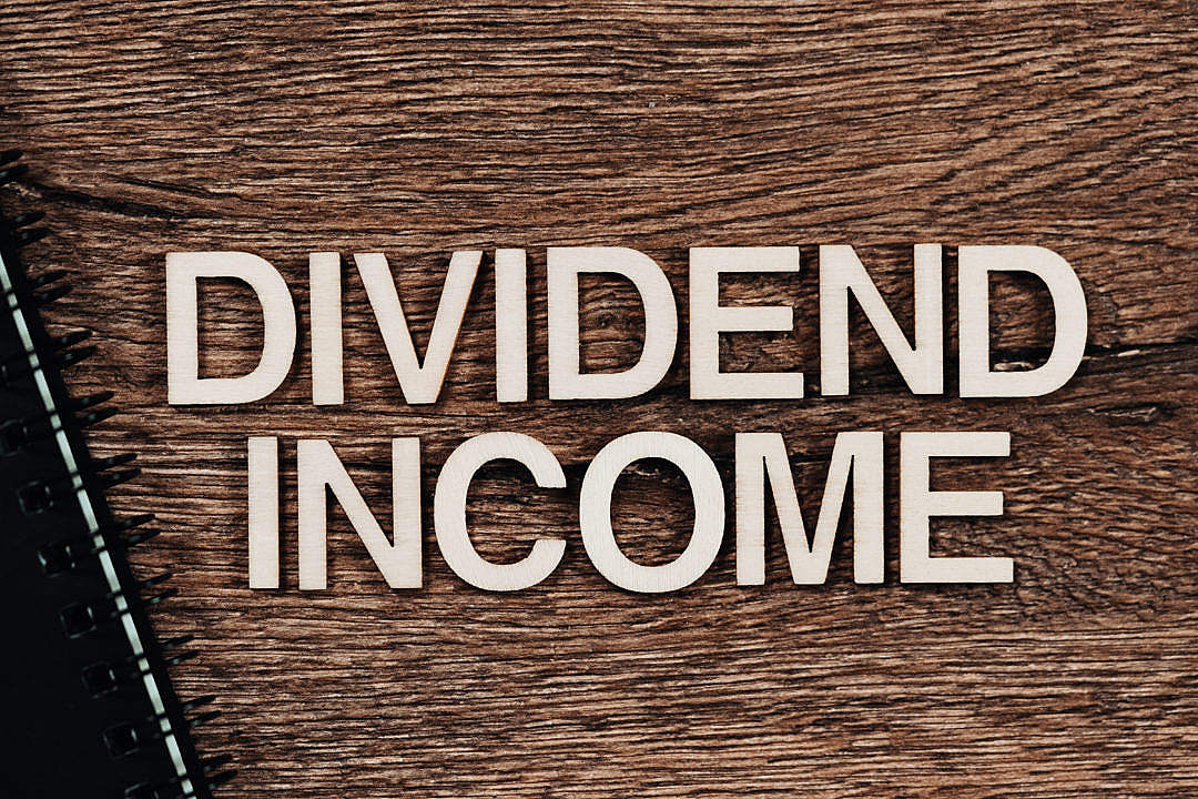 Download Dividend Income FREE Stock Photo