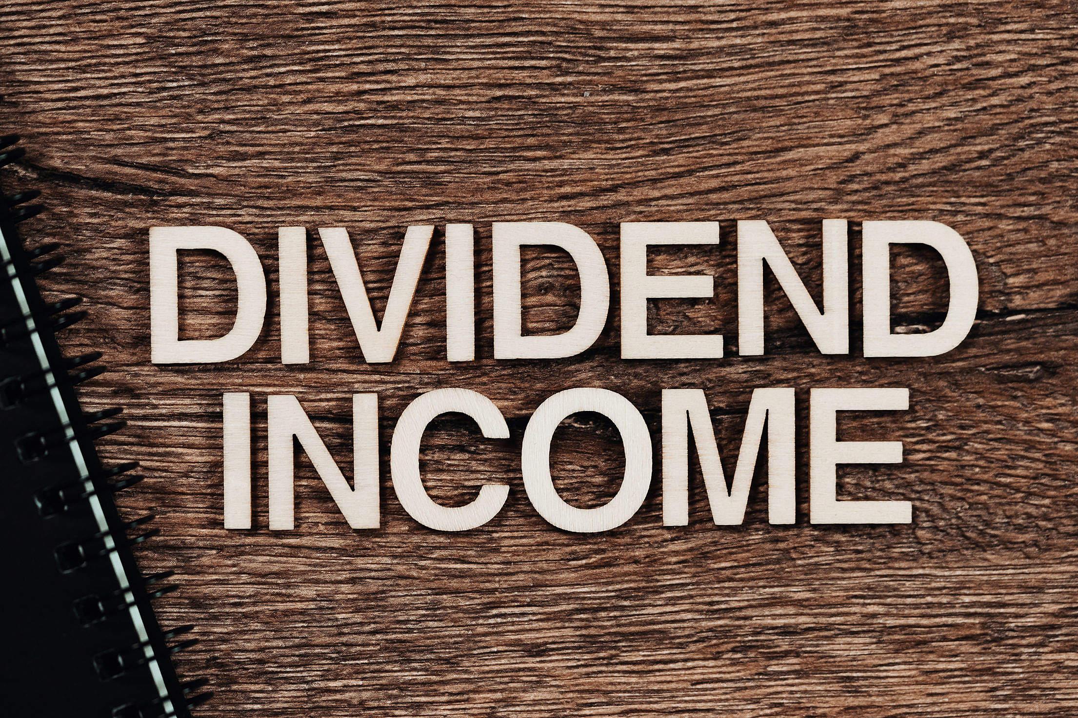 Dividend Income Free Stock Photo