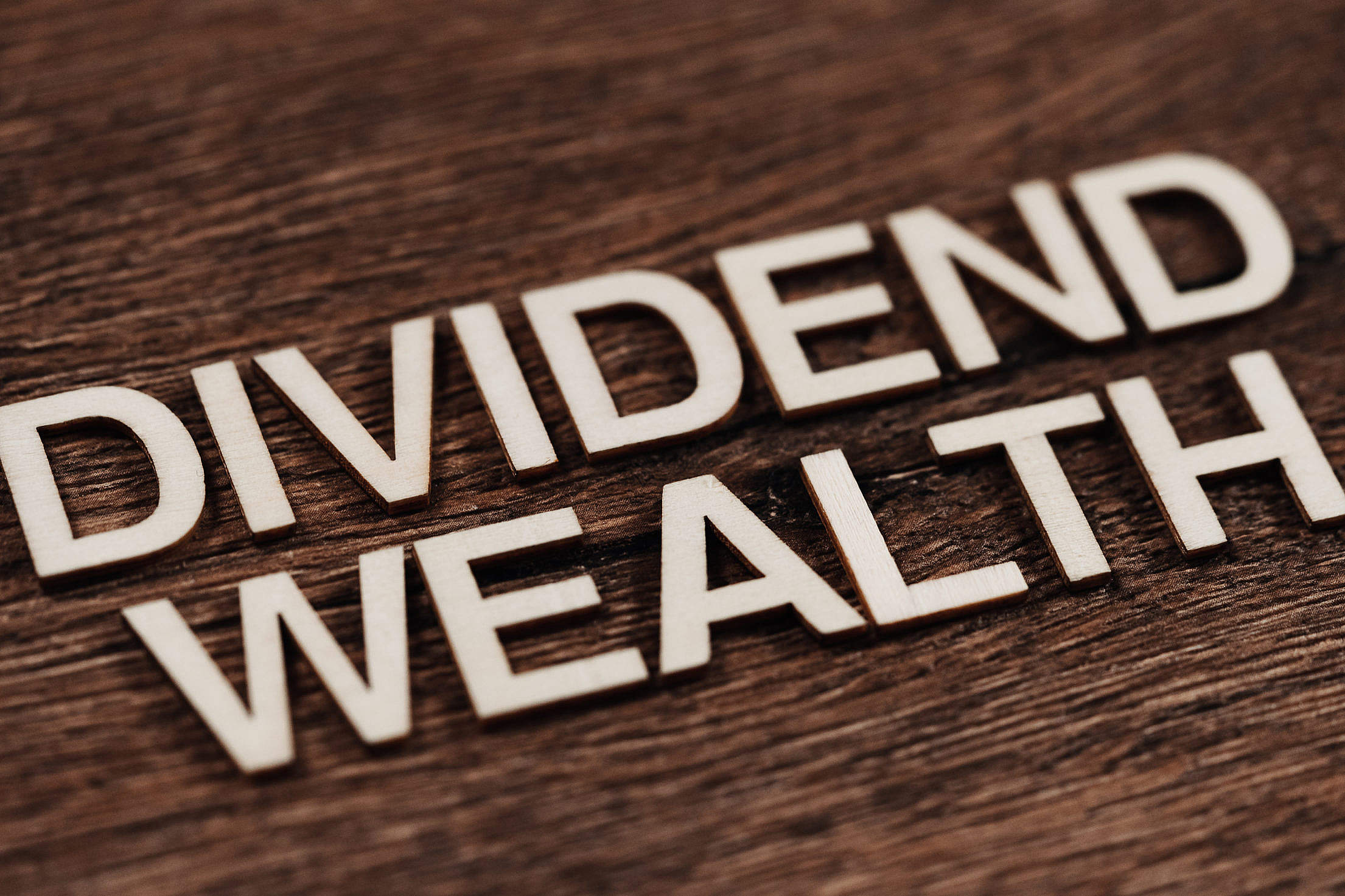 Dividend Wealth Free Stock Photo