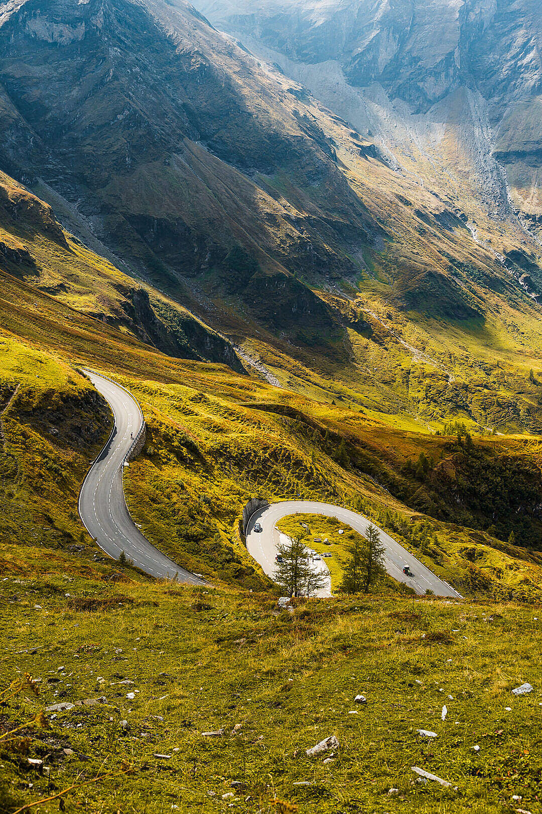 Download Dream Drive on Grossglockner Mountain Road FREE Stock Photo