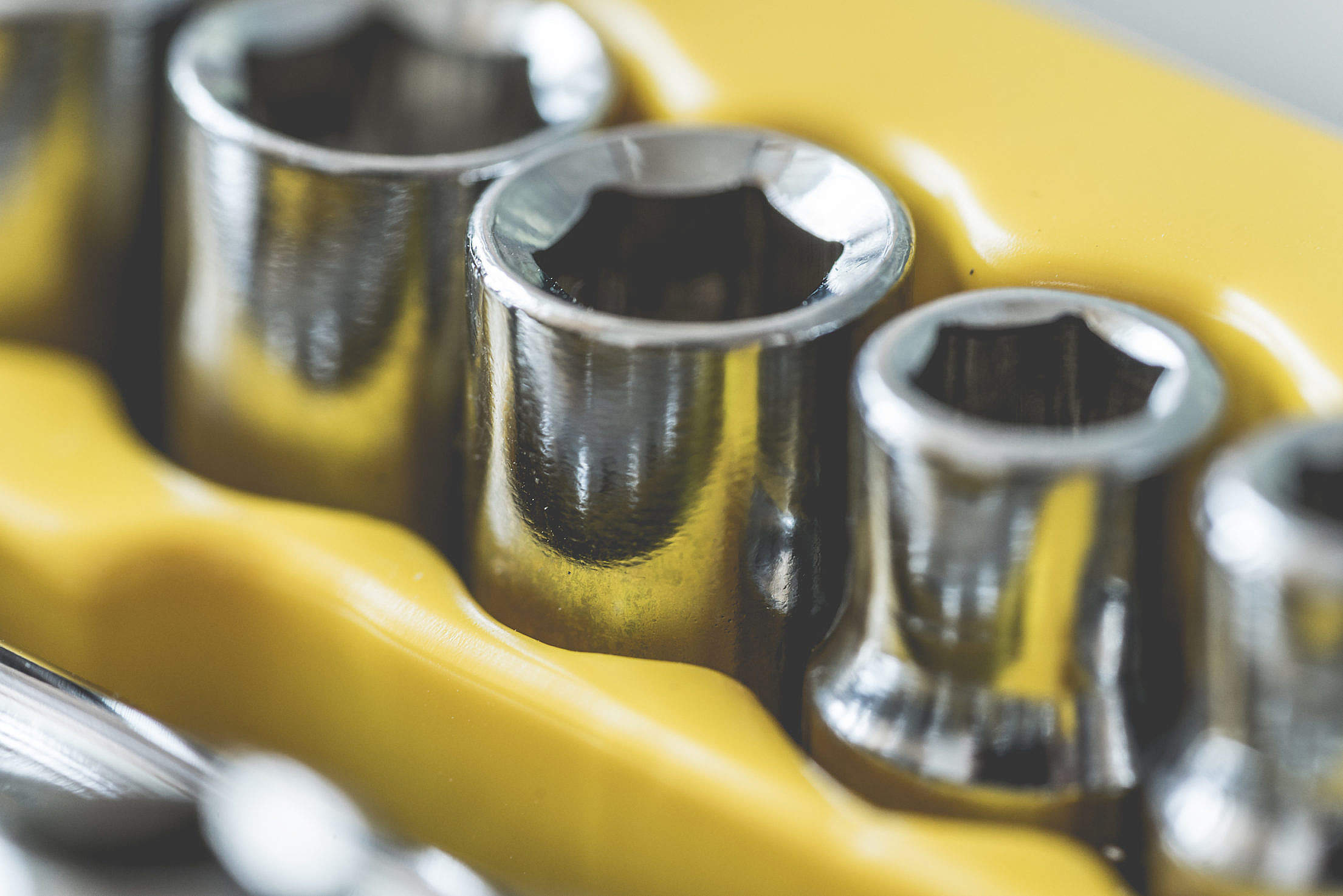 Drive Socket Set Close Up Free Stock Photo