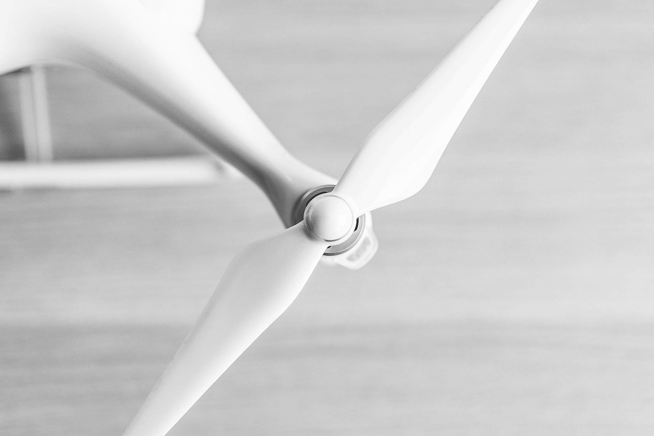 Drone UAV Quadcopter Propeller Close Up Free Stock Photo