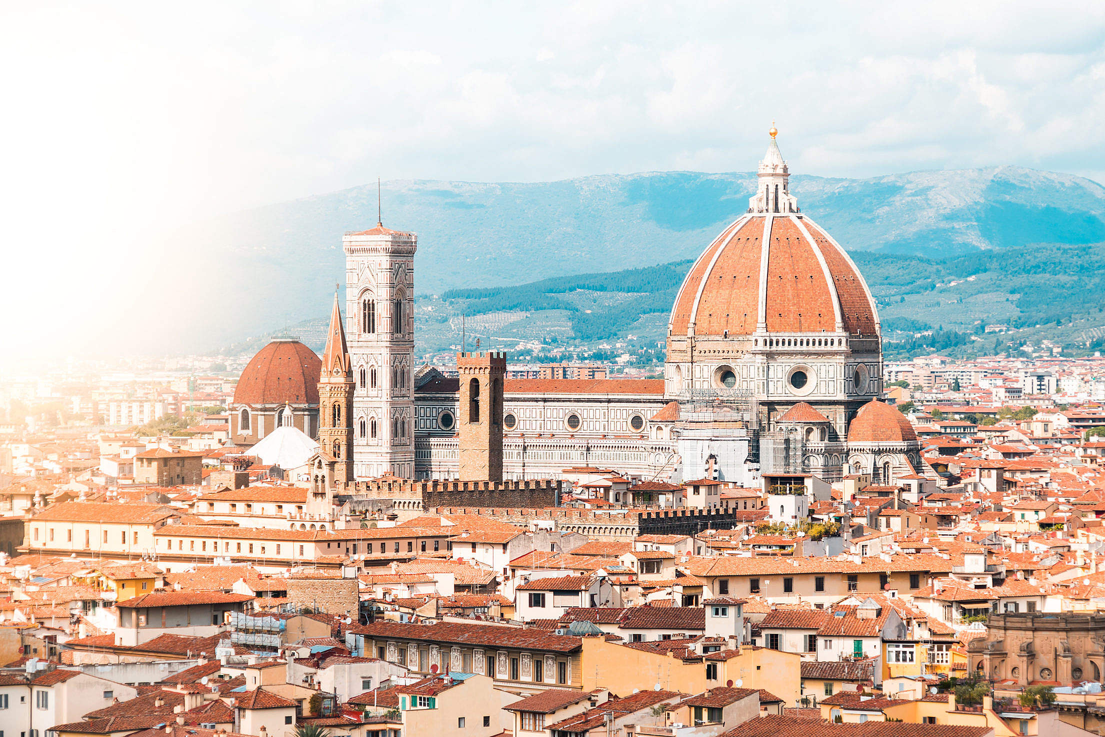 Duomo S. Maria del Fiore in Florence, Italy Free Stock Photo
