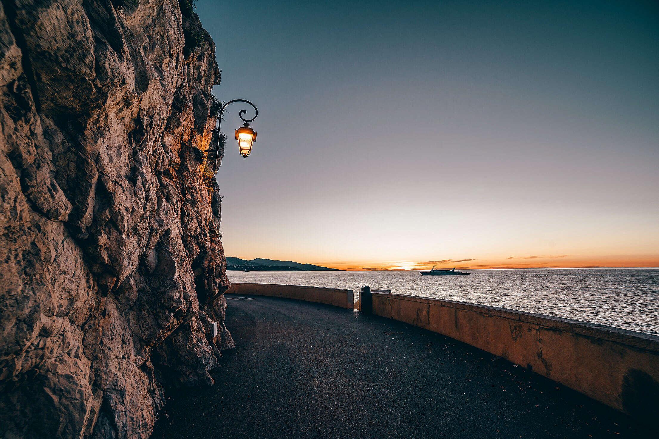Early Morning in Monaco Free Stock Photo