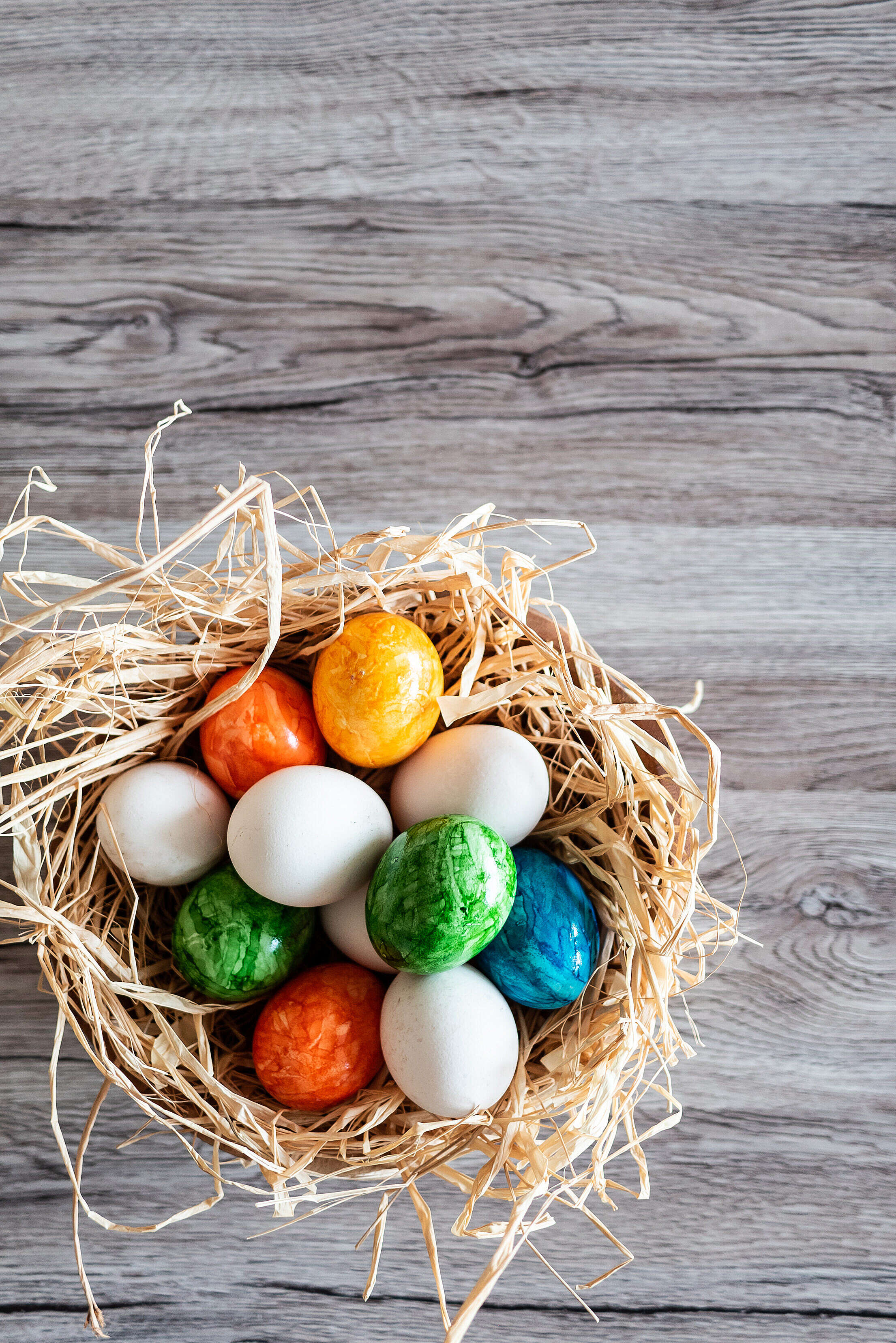 Download Easter Eggs Vertical Free Stock Photo