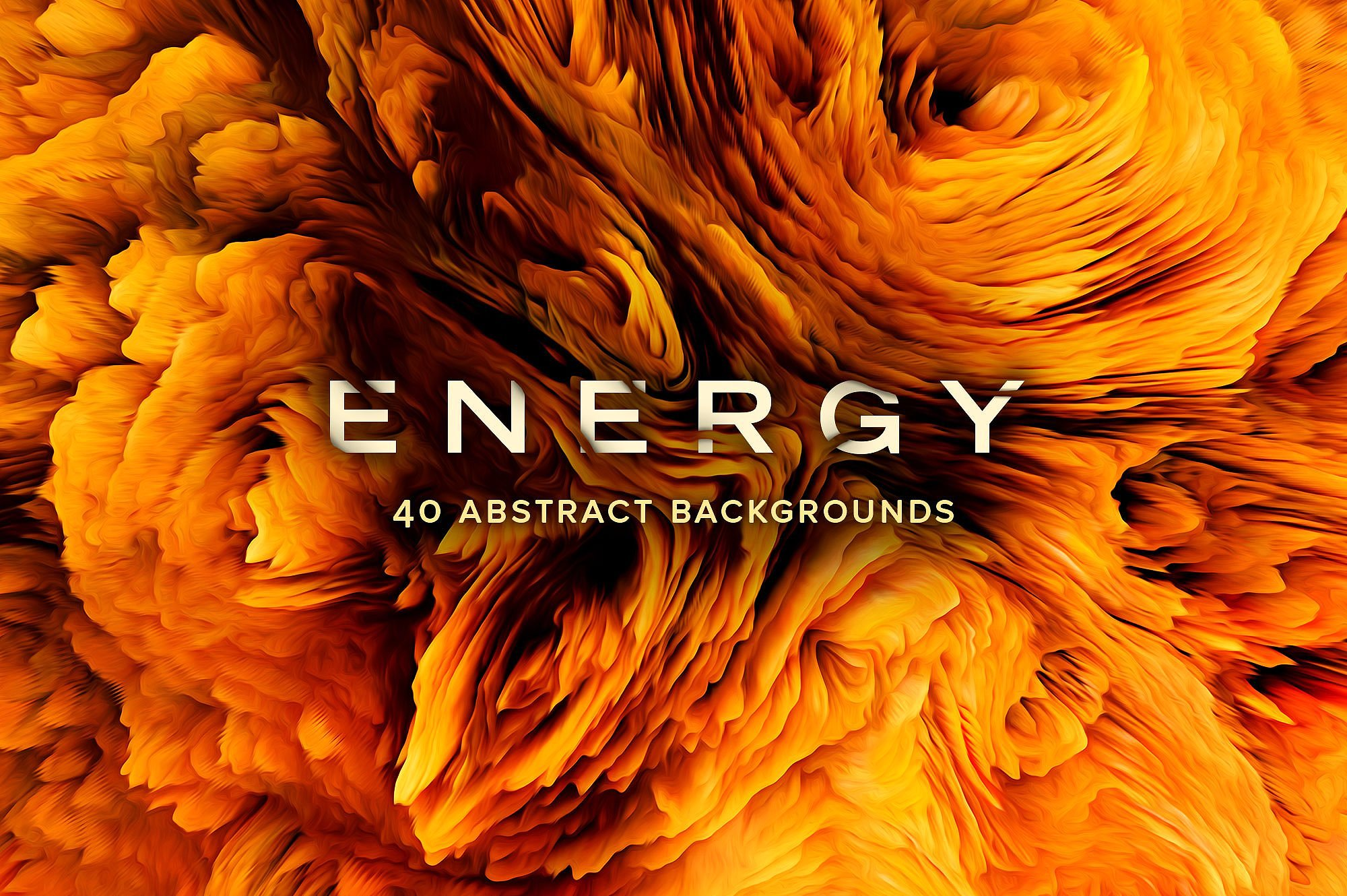 Energy: 40 Abstract Backgrounds stock photo collection