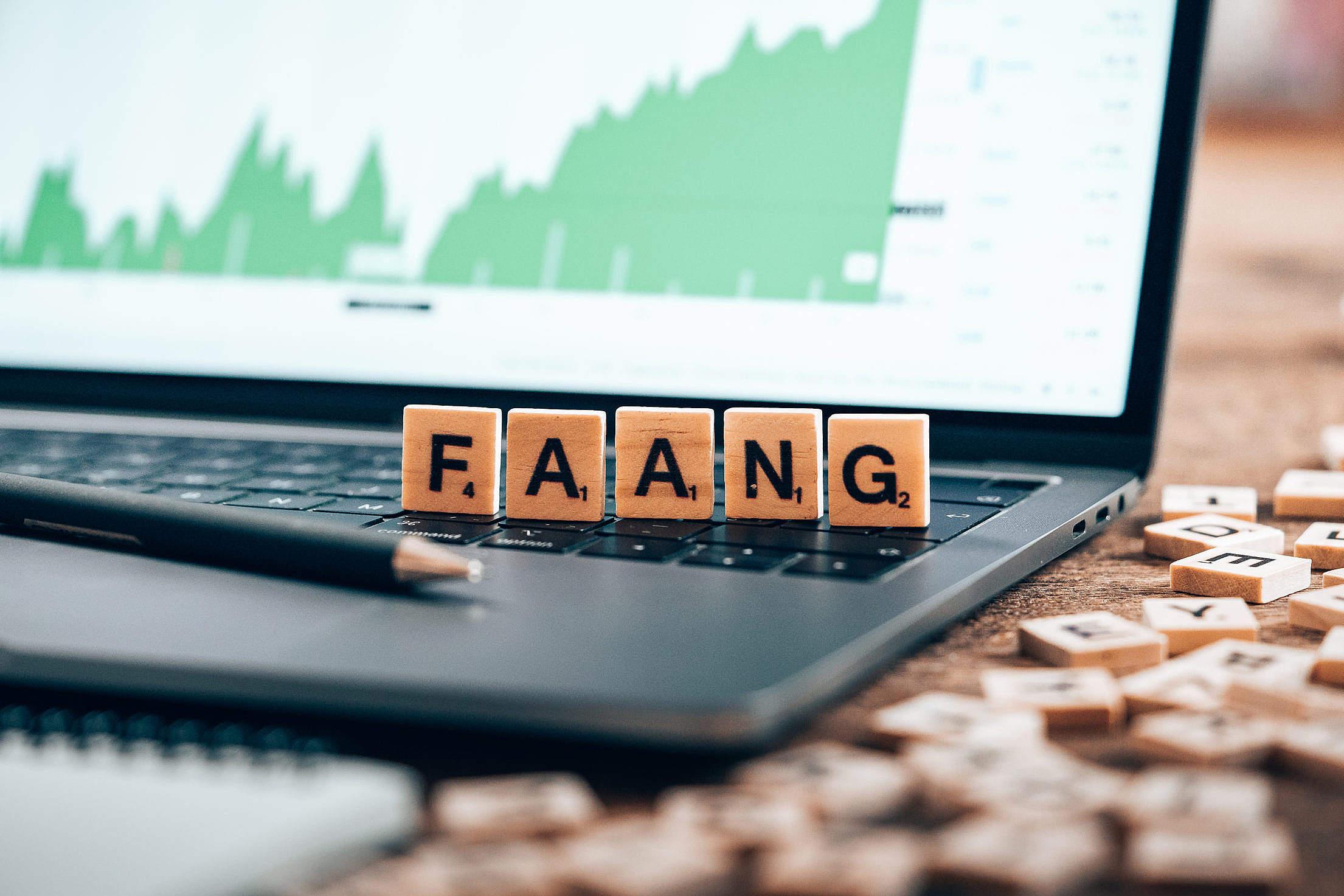 FAANG Stocks Free Stock Photo