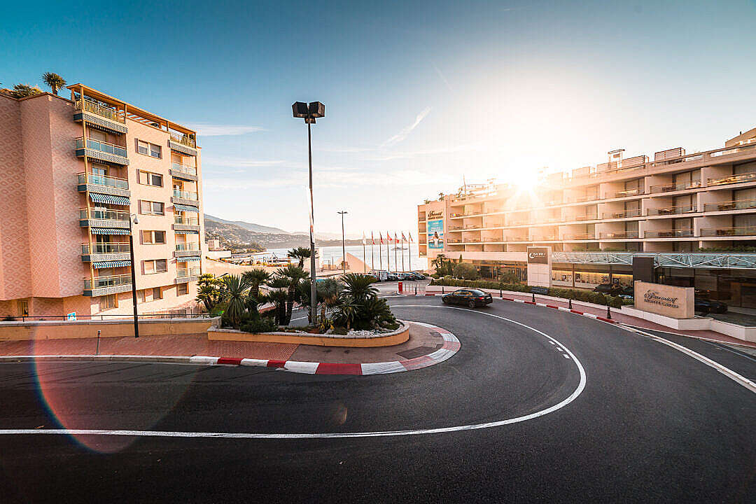 Download Fairmont Hairpin The Worlds Most Famous Bend, Monte Carlo FREE Stock Photo