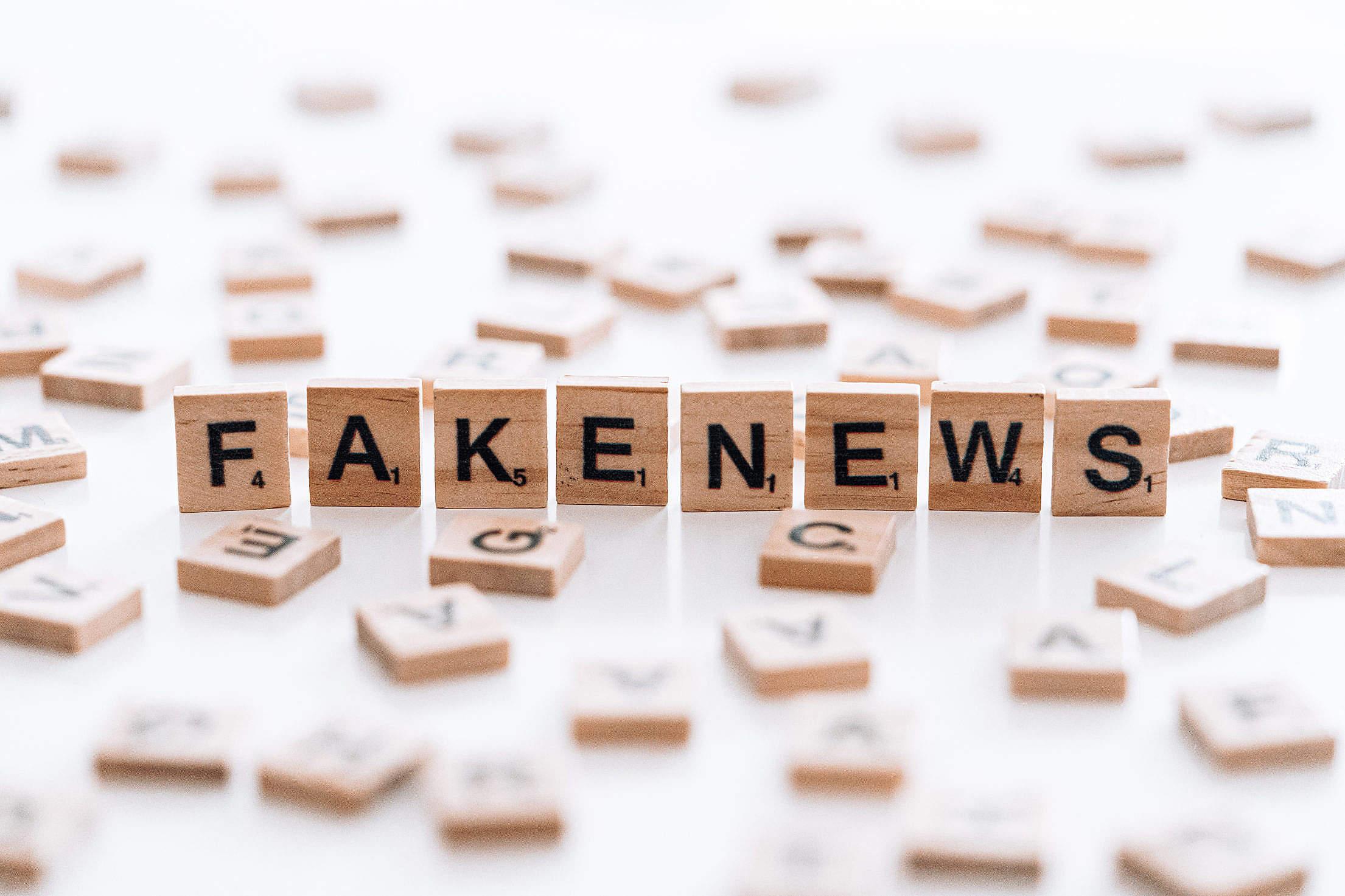 Fake News Free Stock Photo